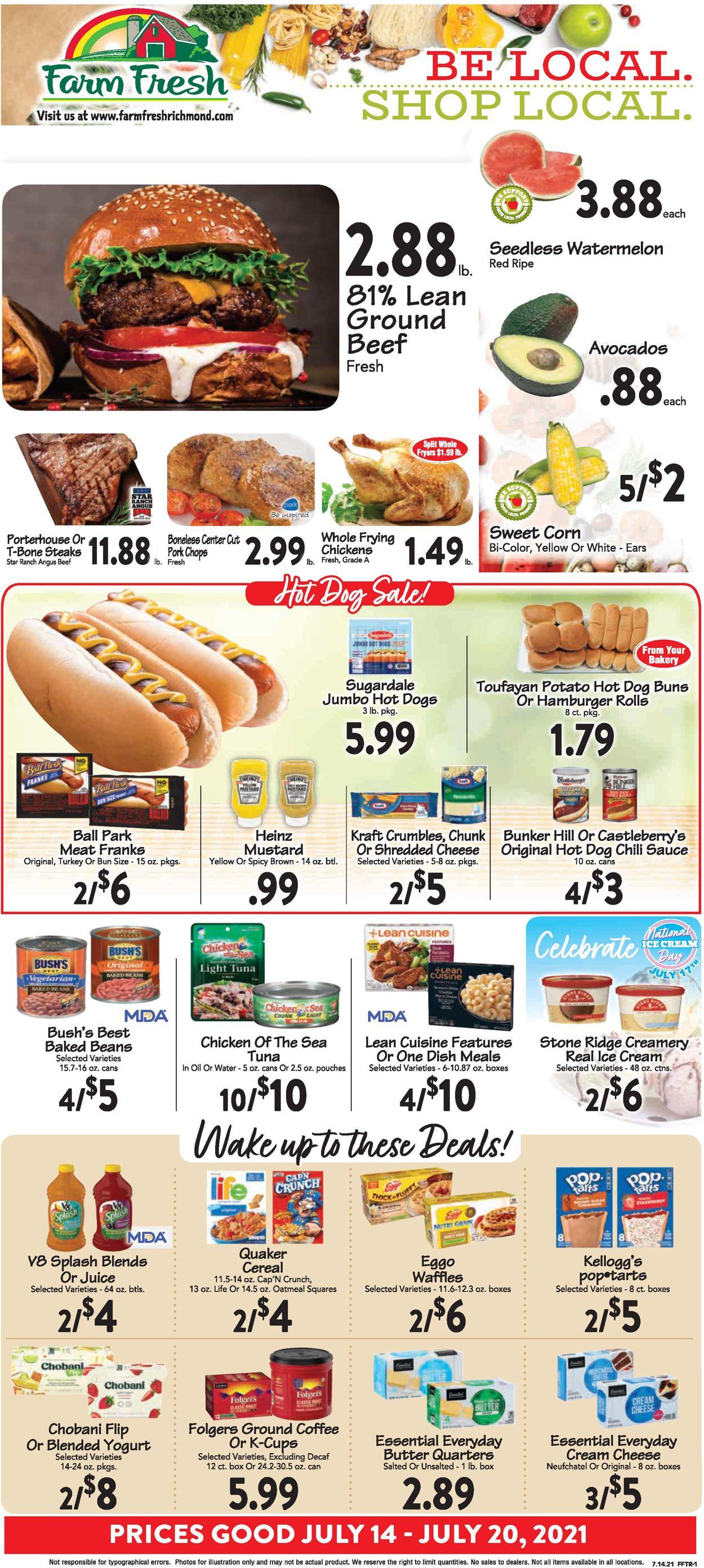 Catalogue Farm Fresh from 07/14/2021