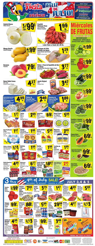 Catalogue Fiesta Mart from 06/30/2021