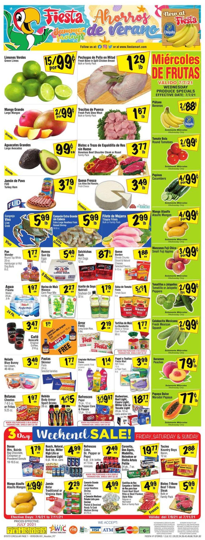 Catalogue Fiesta Mart from 07/07/2021