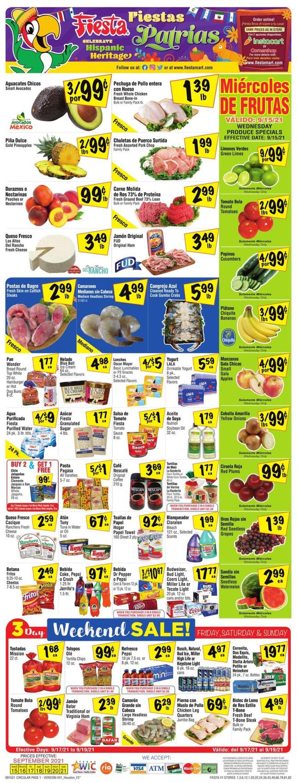 Catalogue Fiesta Mart from 09/15/2021