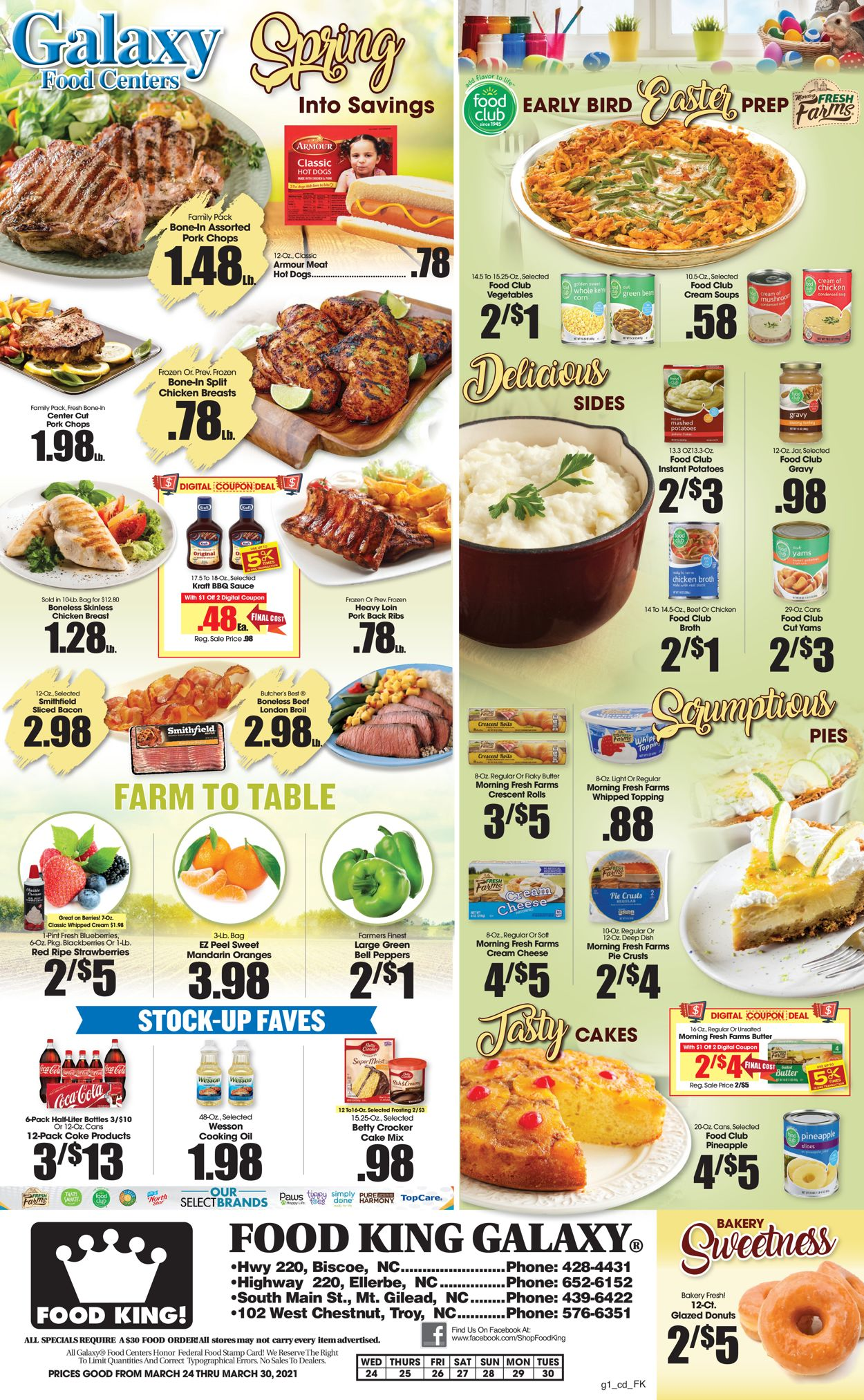 Catalogue Food King from 03/24/2021