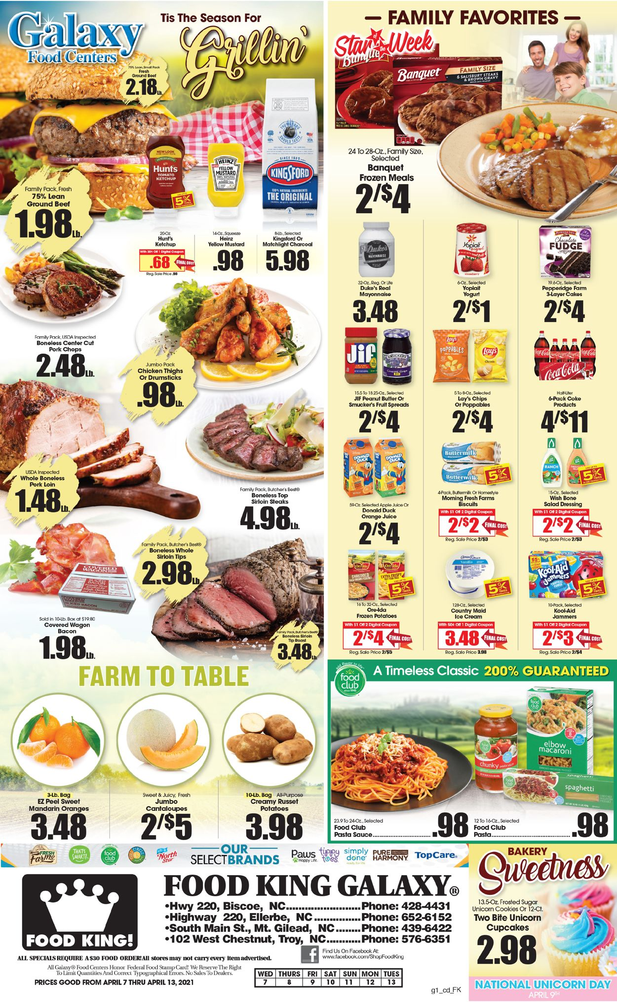 Catalogue Food King from 04/07/2021