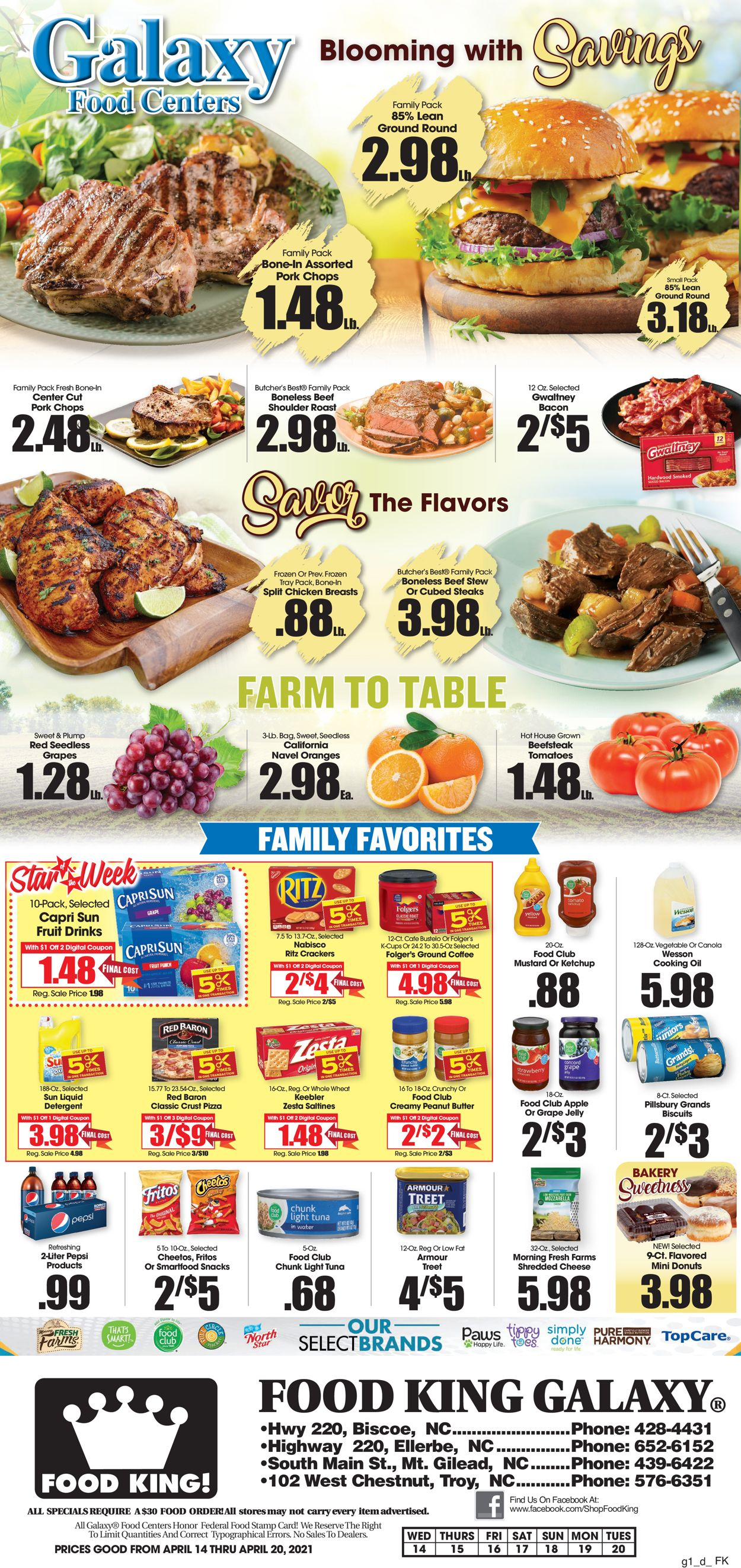 Catalogue Food King from 04/14/2021