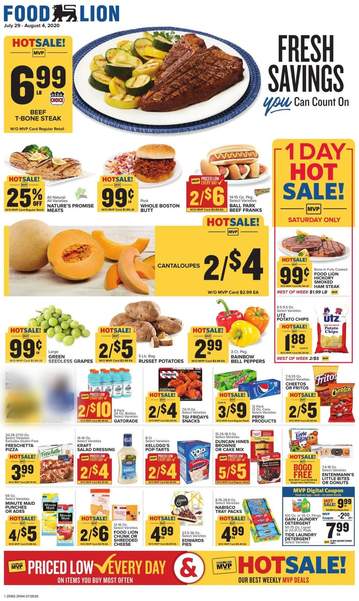 Catalogue Food Lion from 07/29/2020