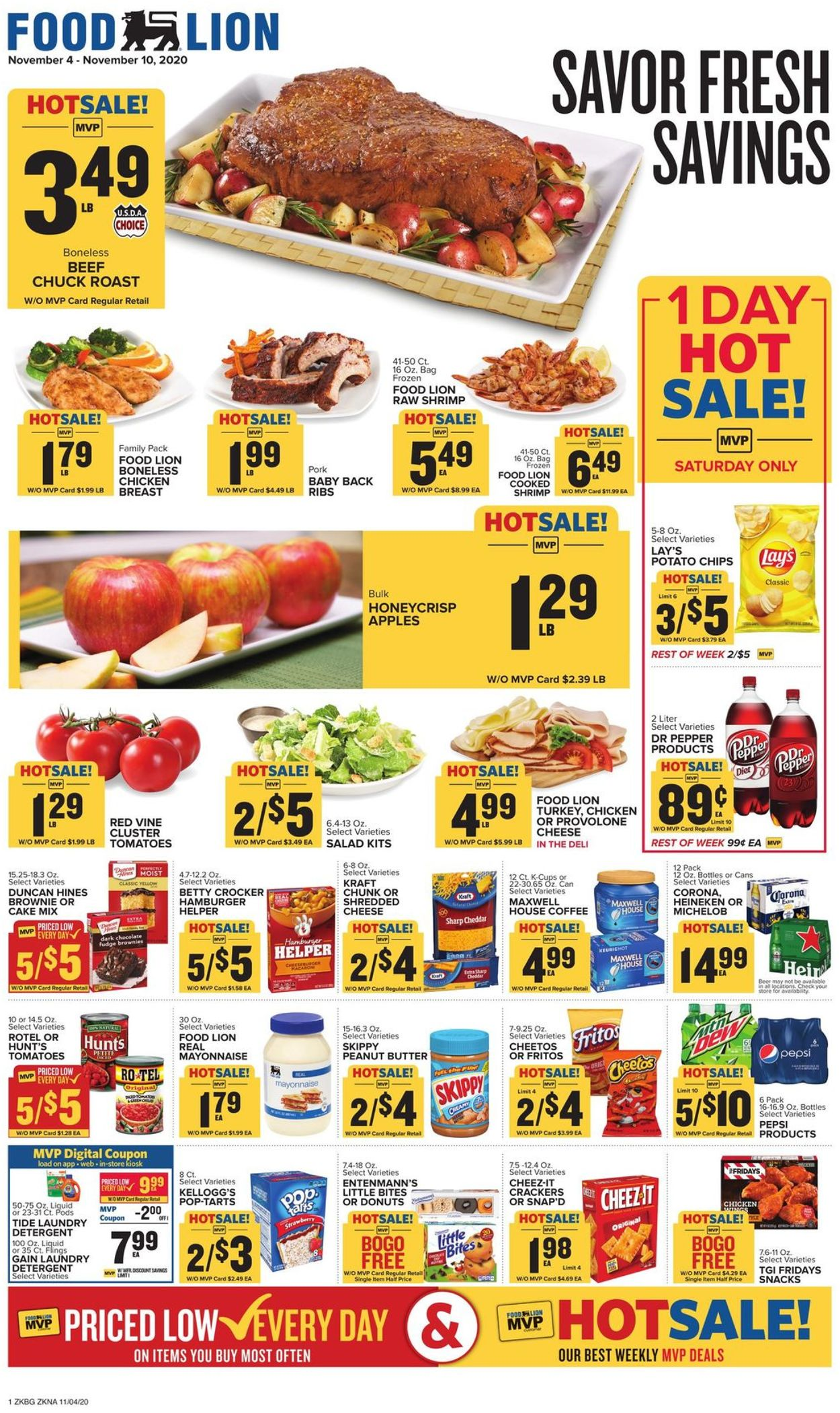 Food Lion Current Weekly Ad 11 04 11 10 2020 Frequent Ads Com