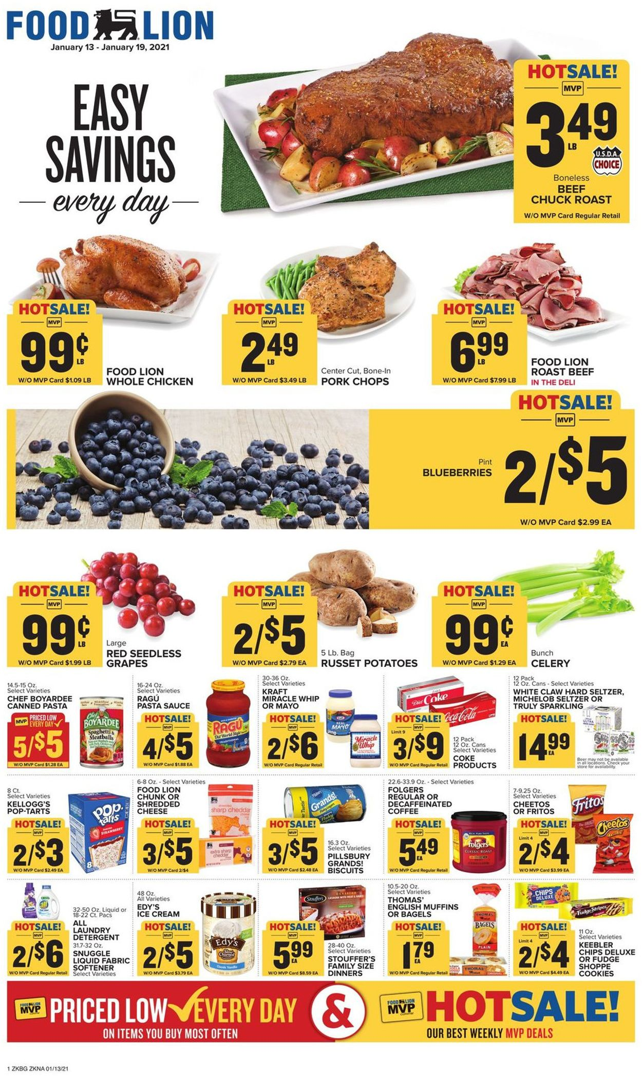 Catalogue Food Lion from 01/13/2021