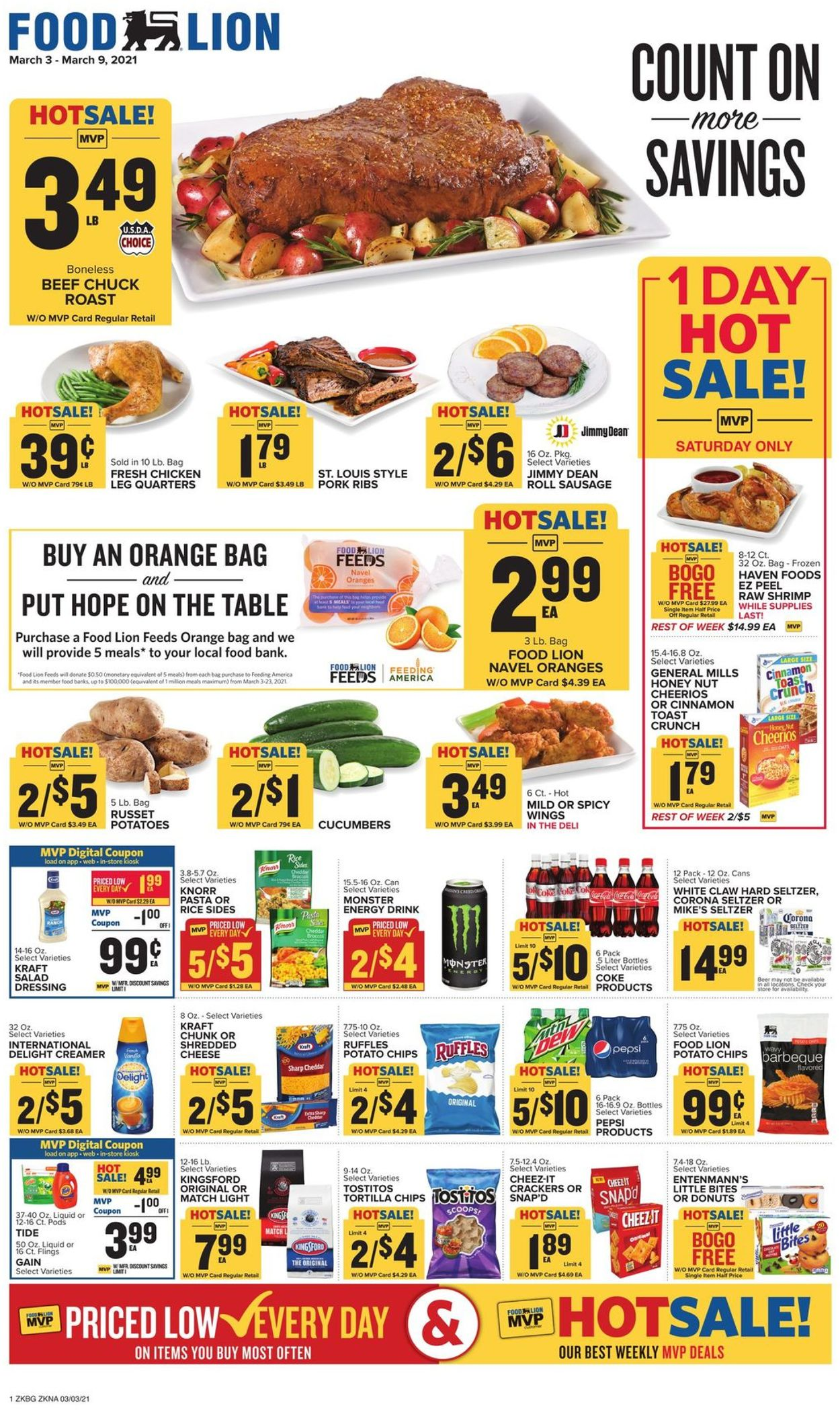 Catalogue Food Lion from 03/03/2021