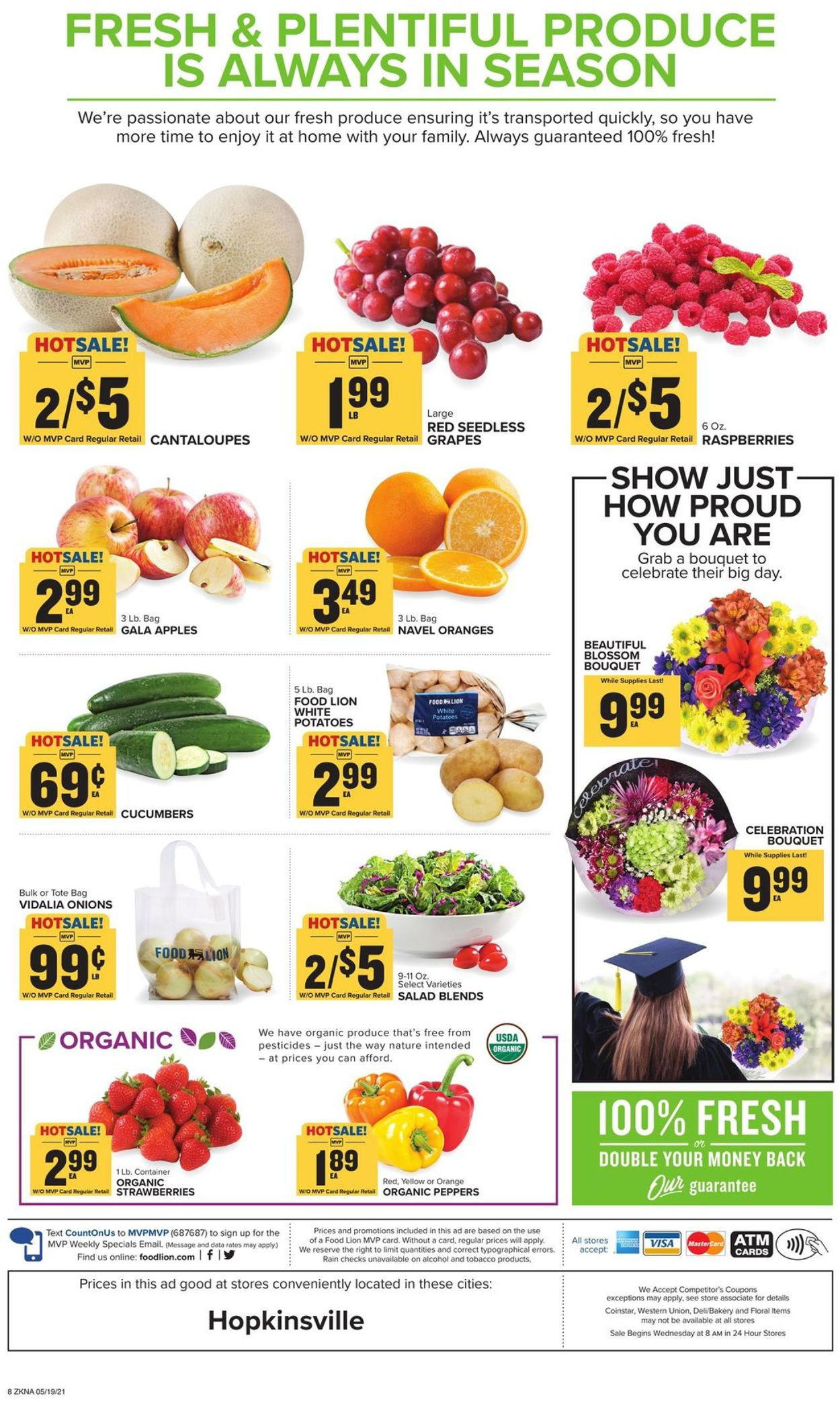 Catalogue Food Lion from 05/19/2021