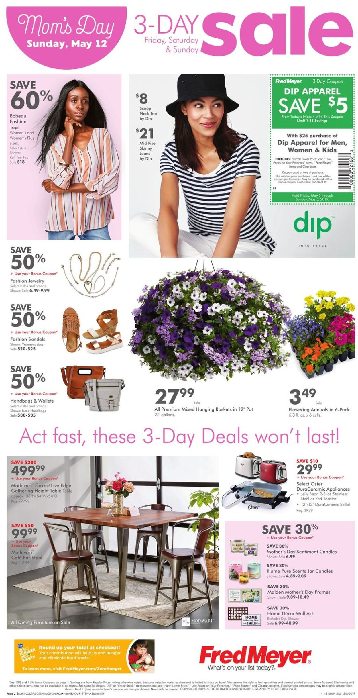 Fred Meyer Current weekly ad 05/03 - 05/05/2019 [2