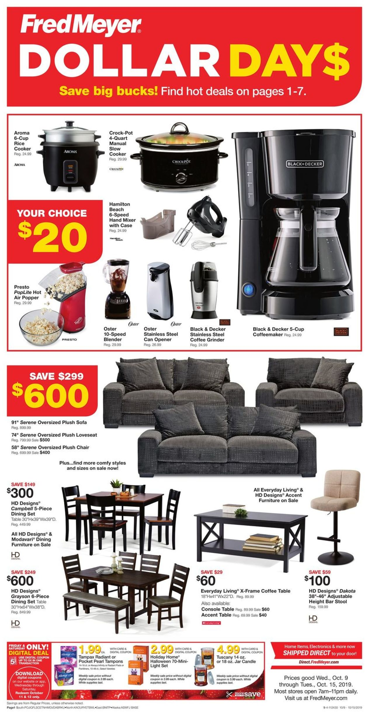 Fred Meyer Cur Weekly Ad 10 09