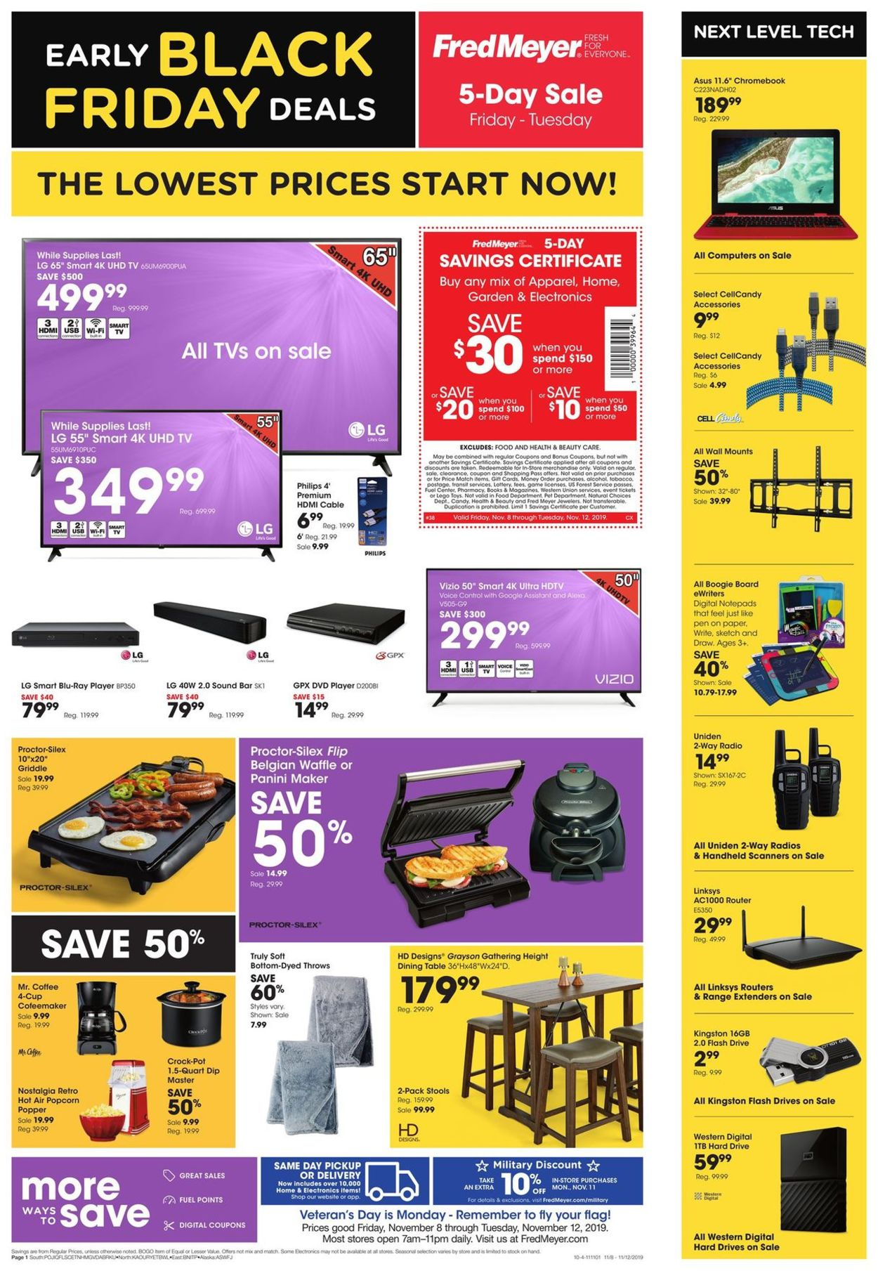 Remarkable Fred Meyer Black Friday Ad 2019 Current Weekly Ad 11 08 Inzonedesignstudio Interior Chair Design Inzonedesignstudiocom