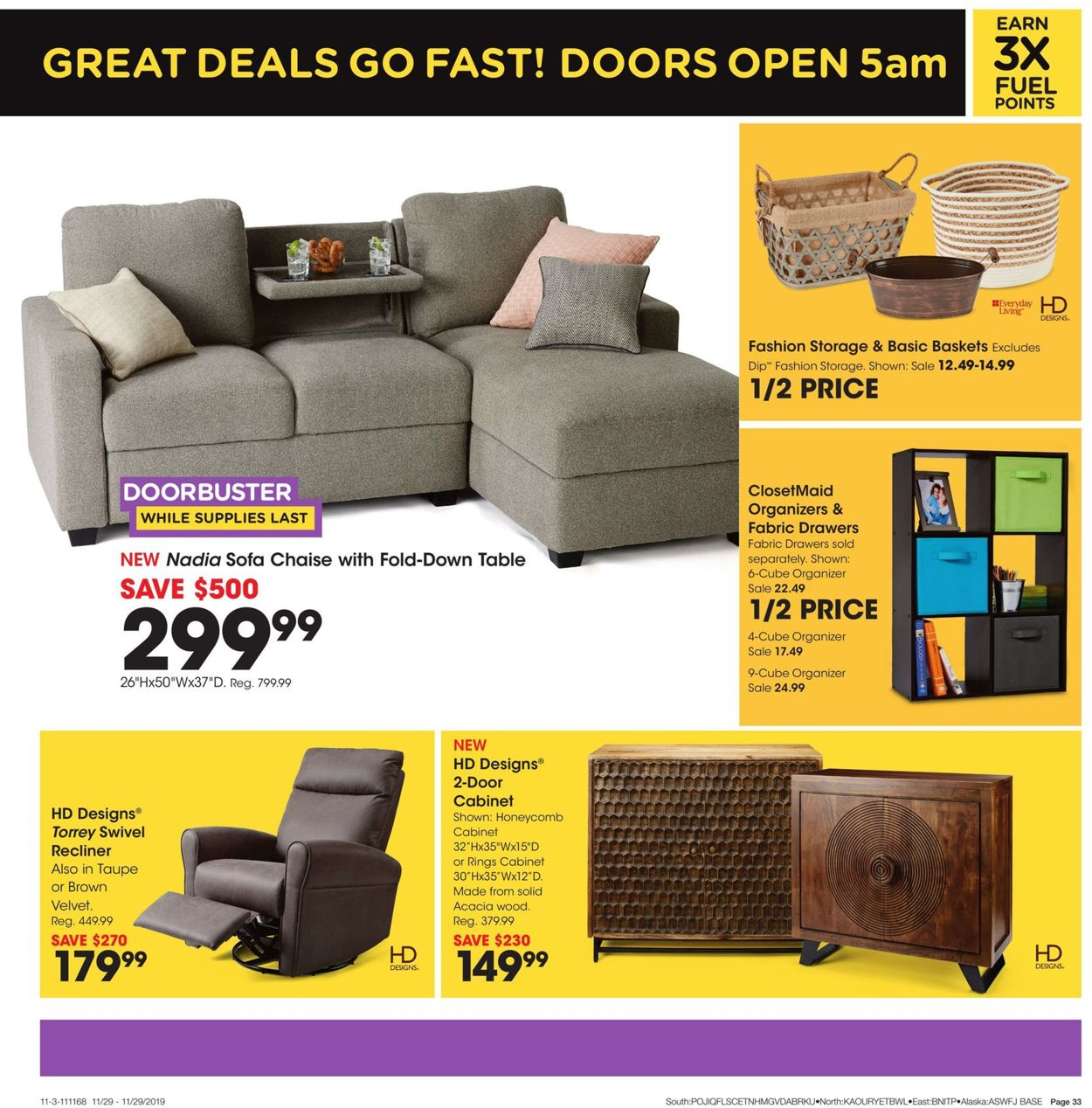 Groovy Fred Meyer Black Friday Ad 2019 Current Weekly Ad 11 11 Inzonedesignstudio Interior Chair Design Inzonedesignstudiocom