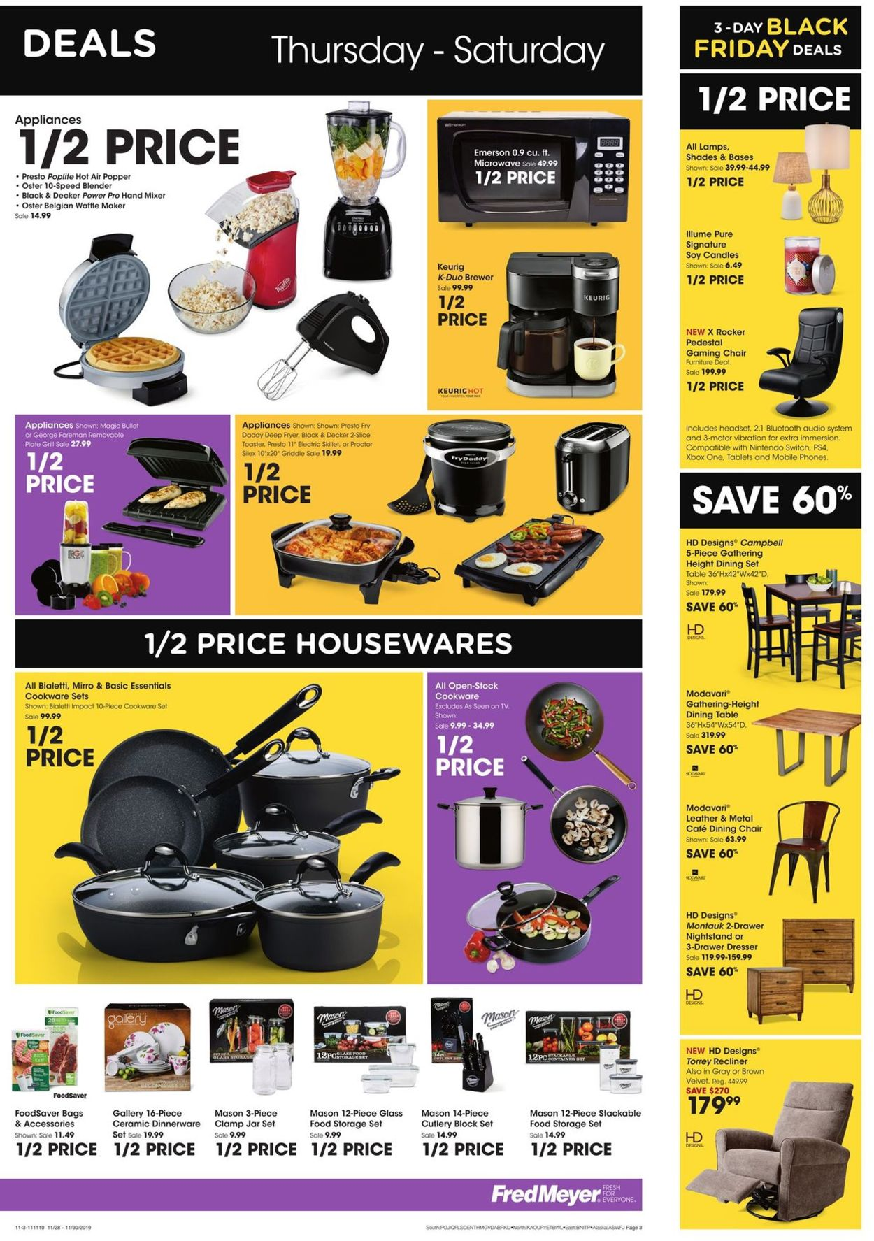 Fantastic Fred Meyer Black Friday Ad 2019 Current Weekly Ad 11 28 Inzonedesignstudio Interior Chair Design Inzonedesignstudiocom