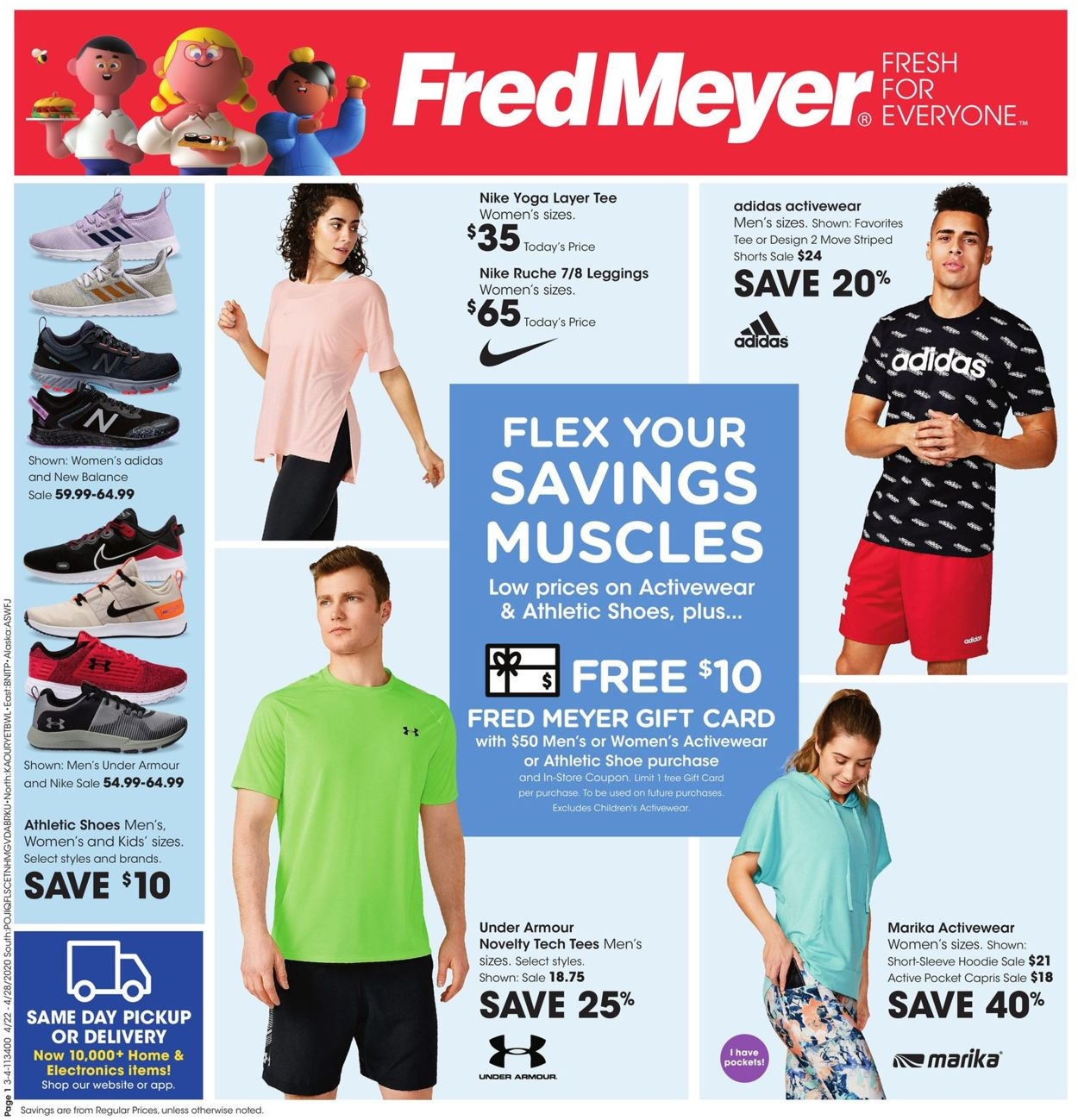 Fred Meyer Current weekly ad 04/22 - 04