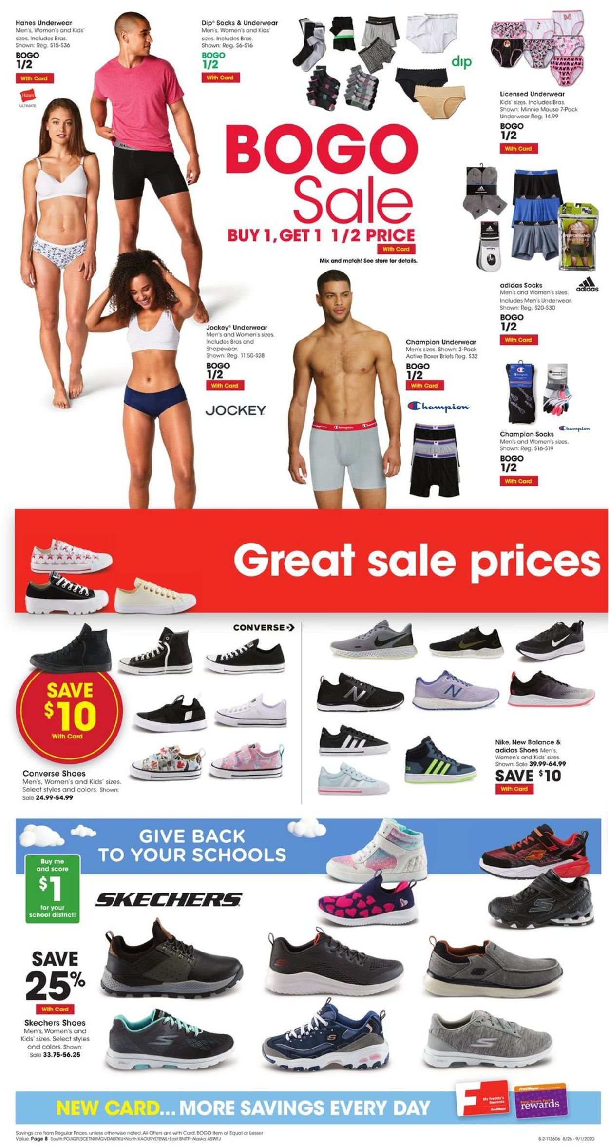 Fred Meyer Current weekly ad 08/26 - 09