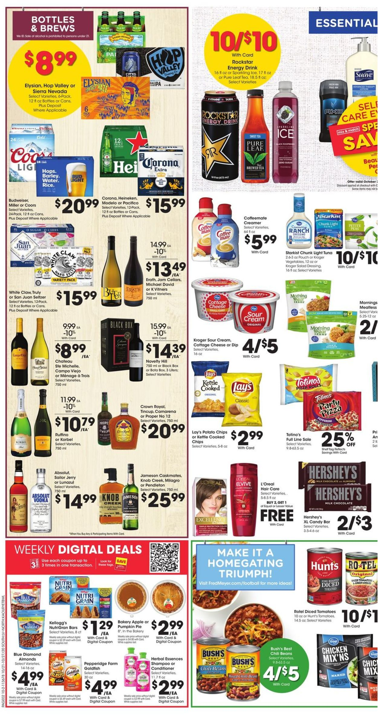 Fred Meyer Current Weekly Ad 10 21 10 27 2020 2 Frequent Ads Com