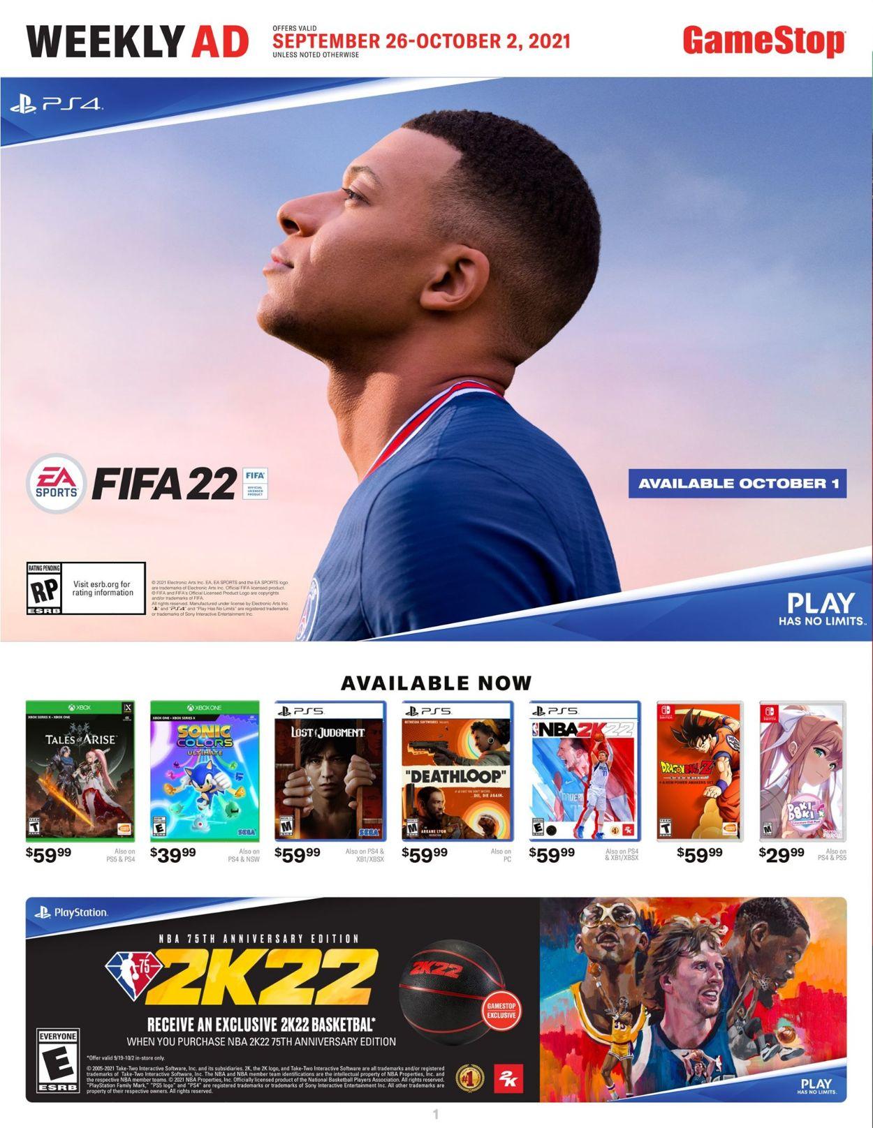 Game Stop weekly-ad