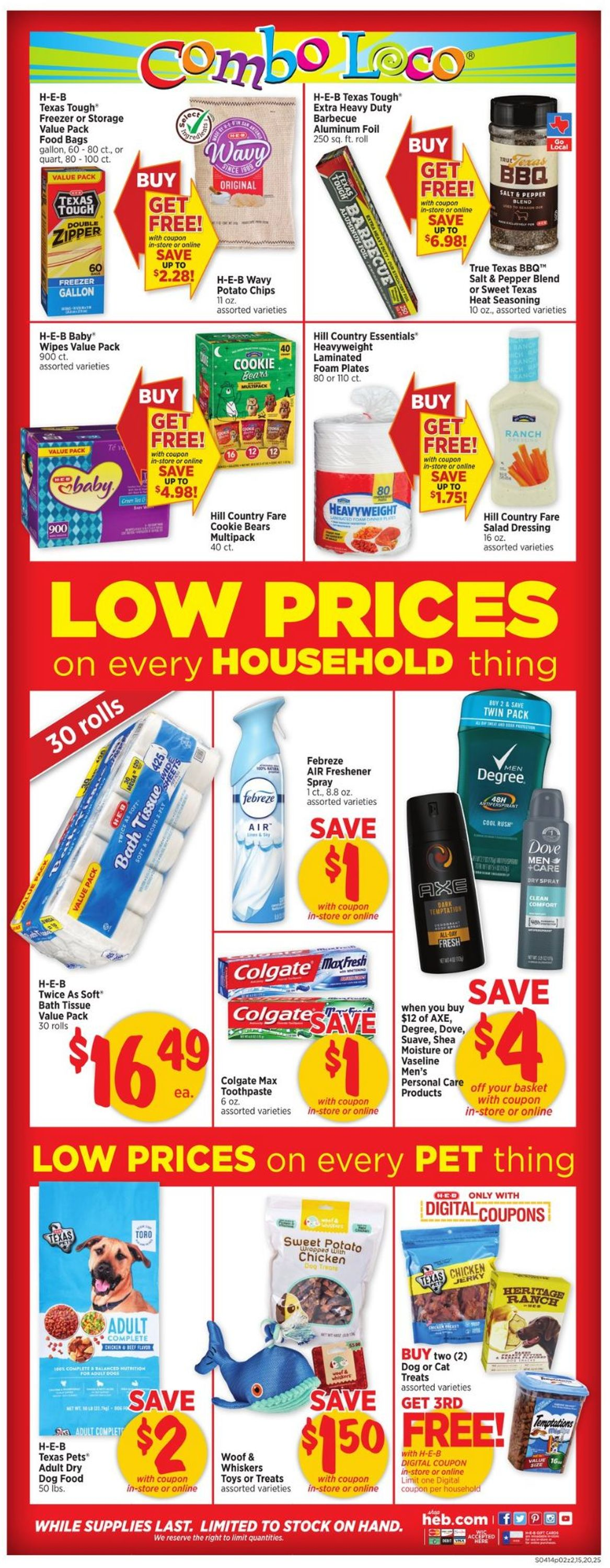Catalogue H-E-B from 04/14/2021