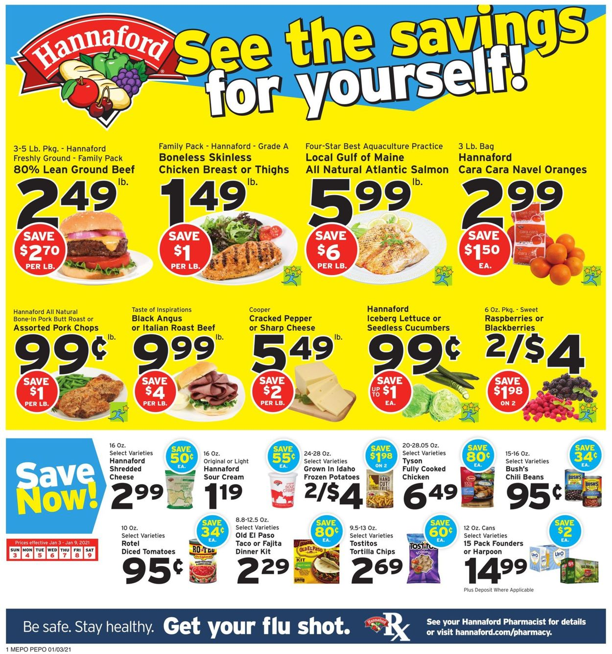 Catalogue Hannaford from 01/03/2021