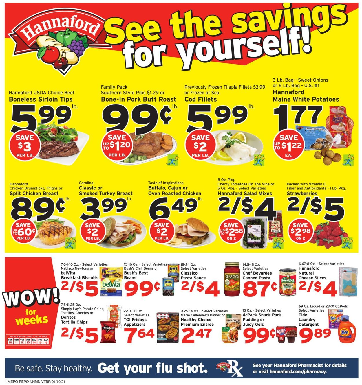 Catalogue Hannaford from 01/10/2021
