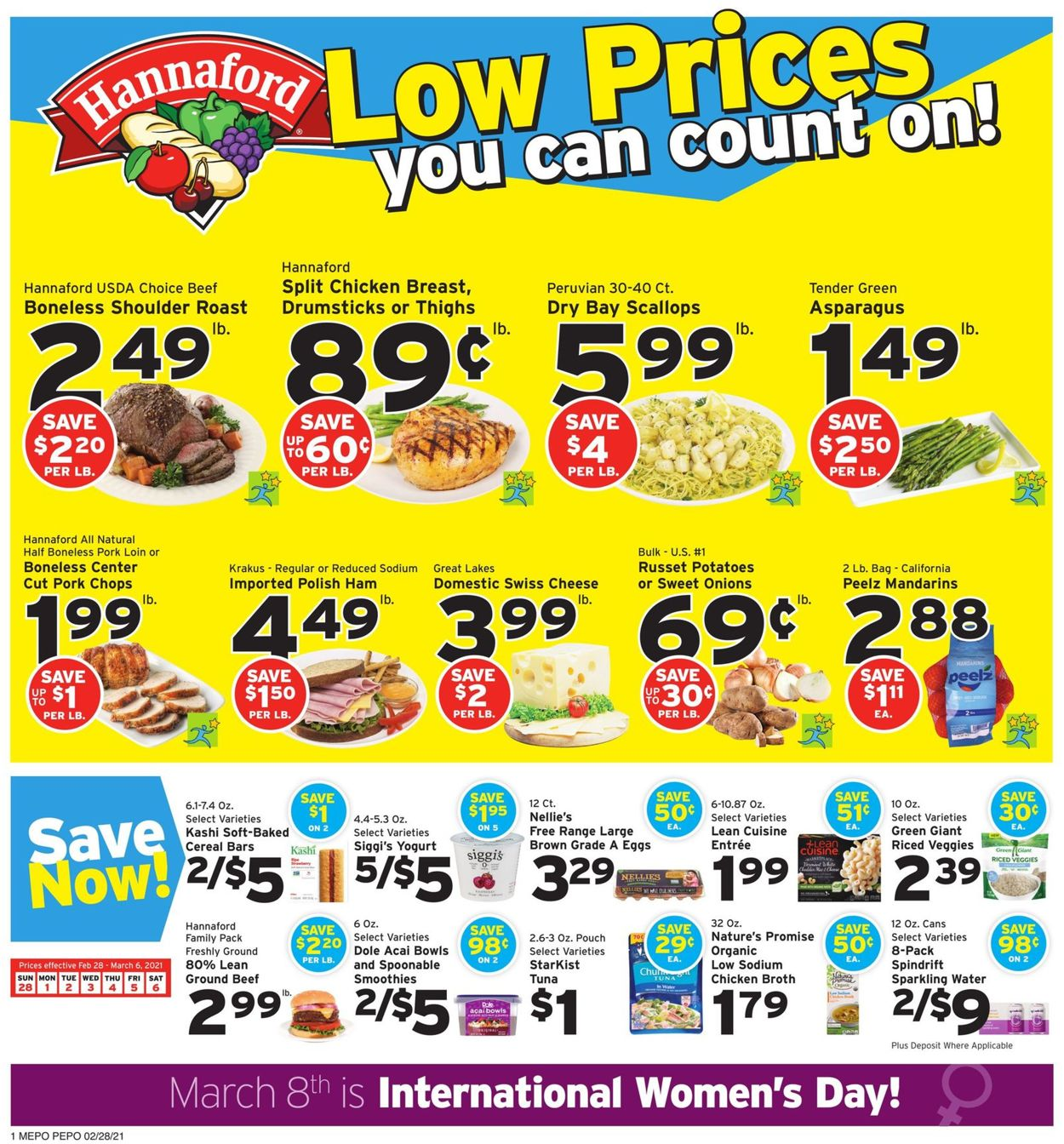Catalogue Hannaford from 02/28/2021