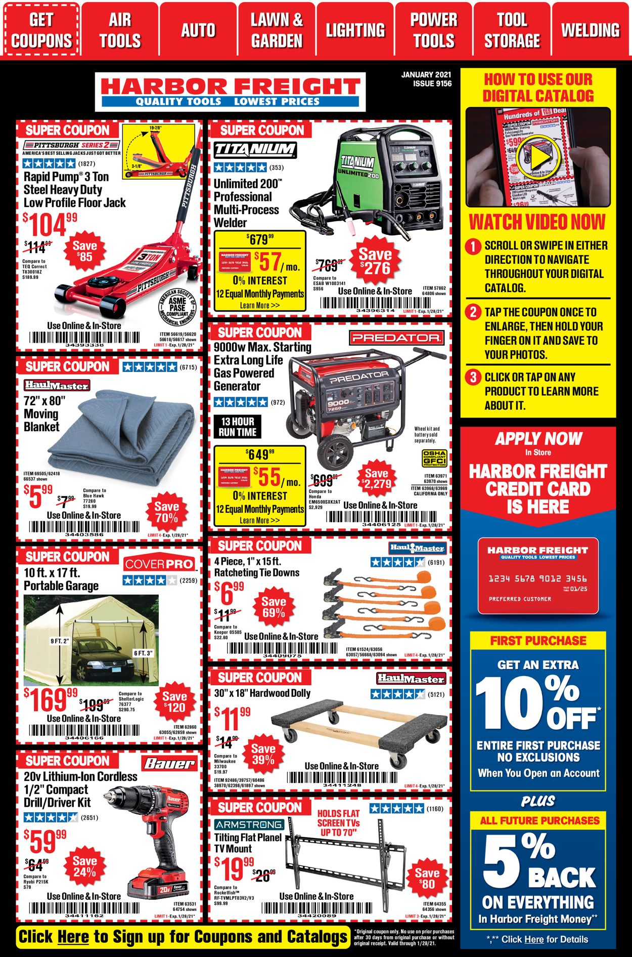 Harbor Freight weekly-ad