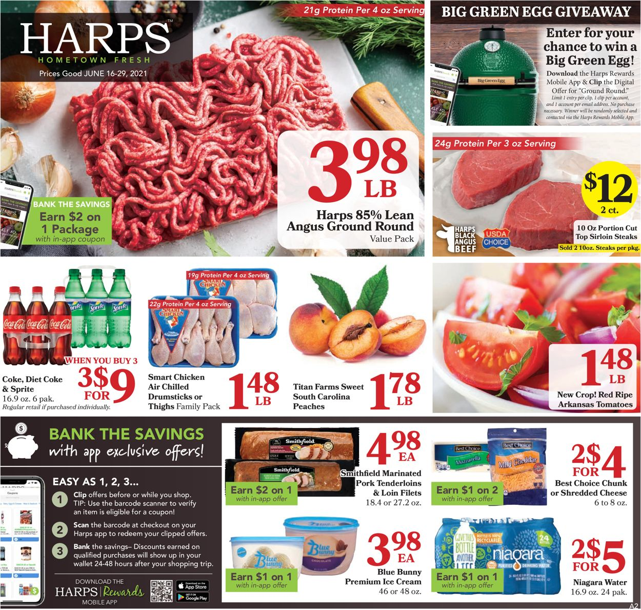 Catalogue Harps Foods from 06/16/2021
