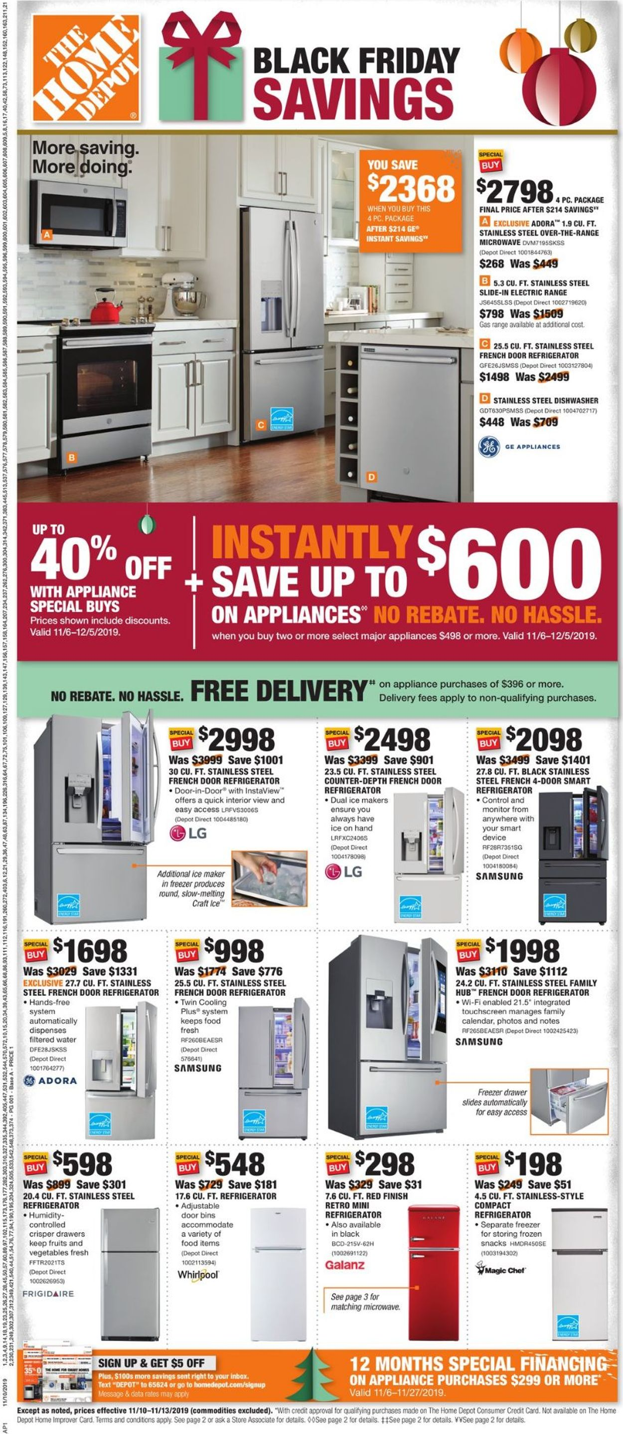 Home Depot Black Friday Ad 2019 Current Weekly Ad 11 10 11 13 2019 Frequent Ads Com