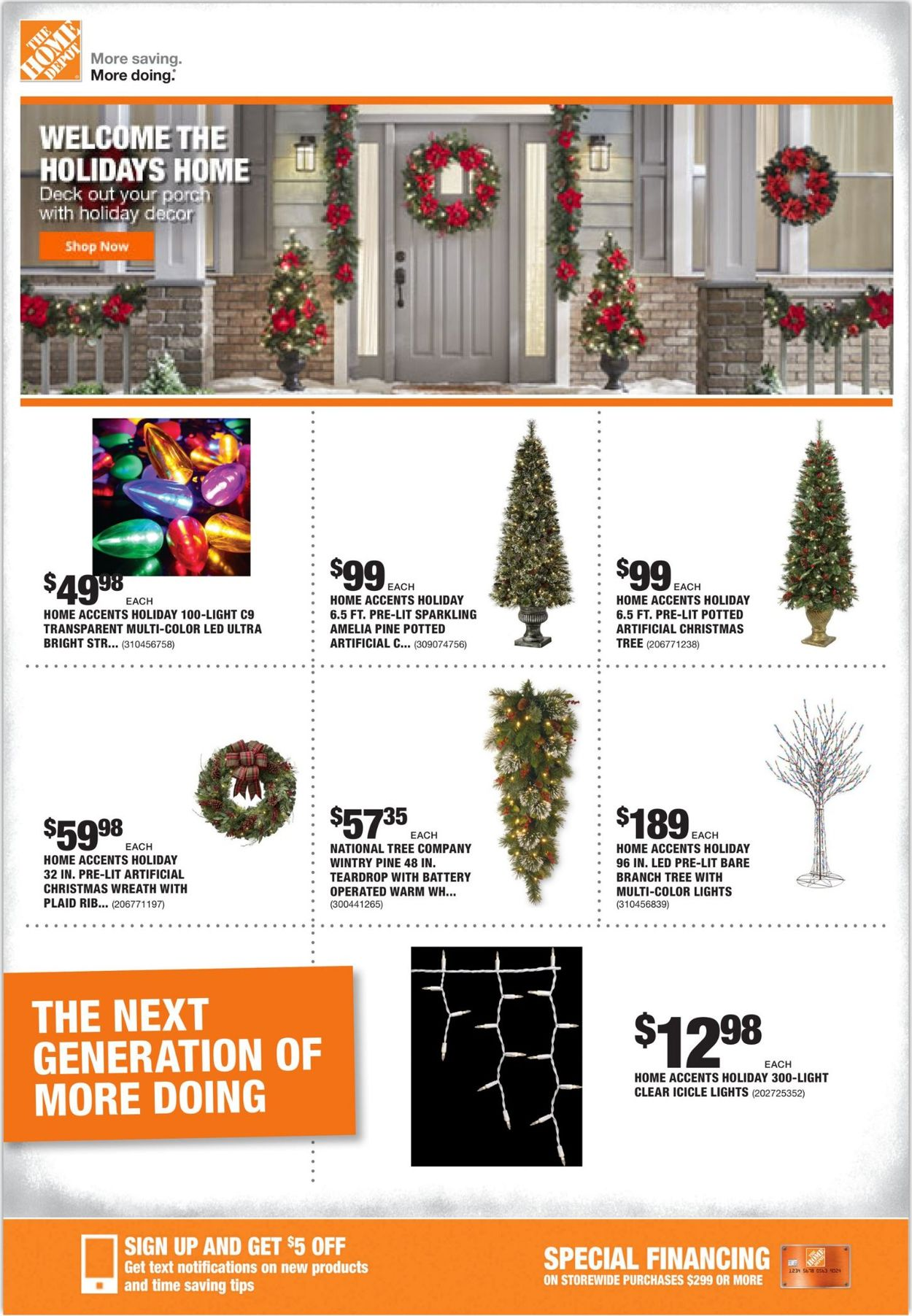 Home Depot Holiday Ad 2019 Current Weekly Ad 11 14 11 21