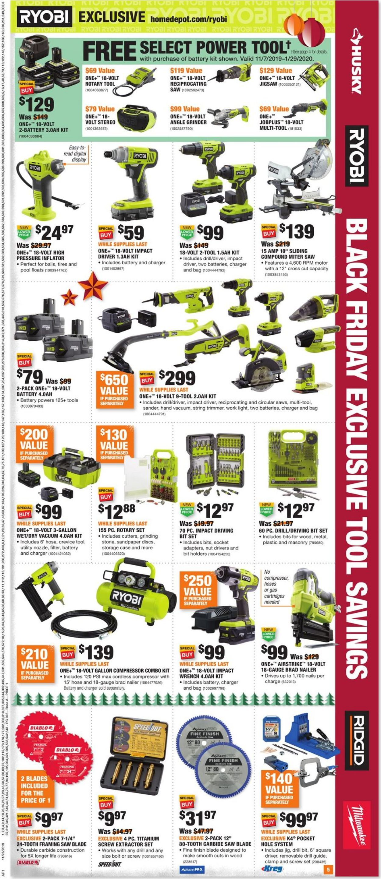 Home Depot Black Friday Savings 2019 Current Weekly Ad 11 28 12 04 2019 5 Frequent Ads Com