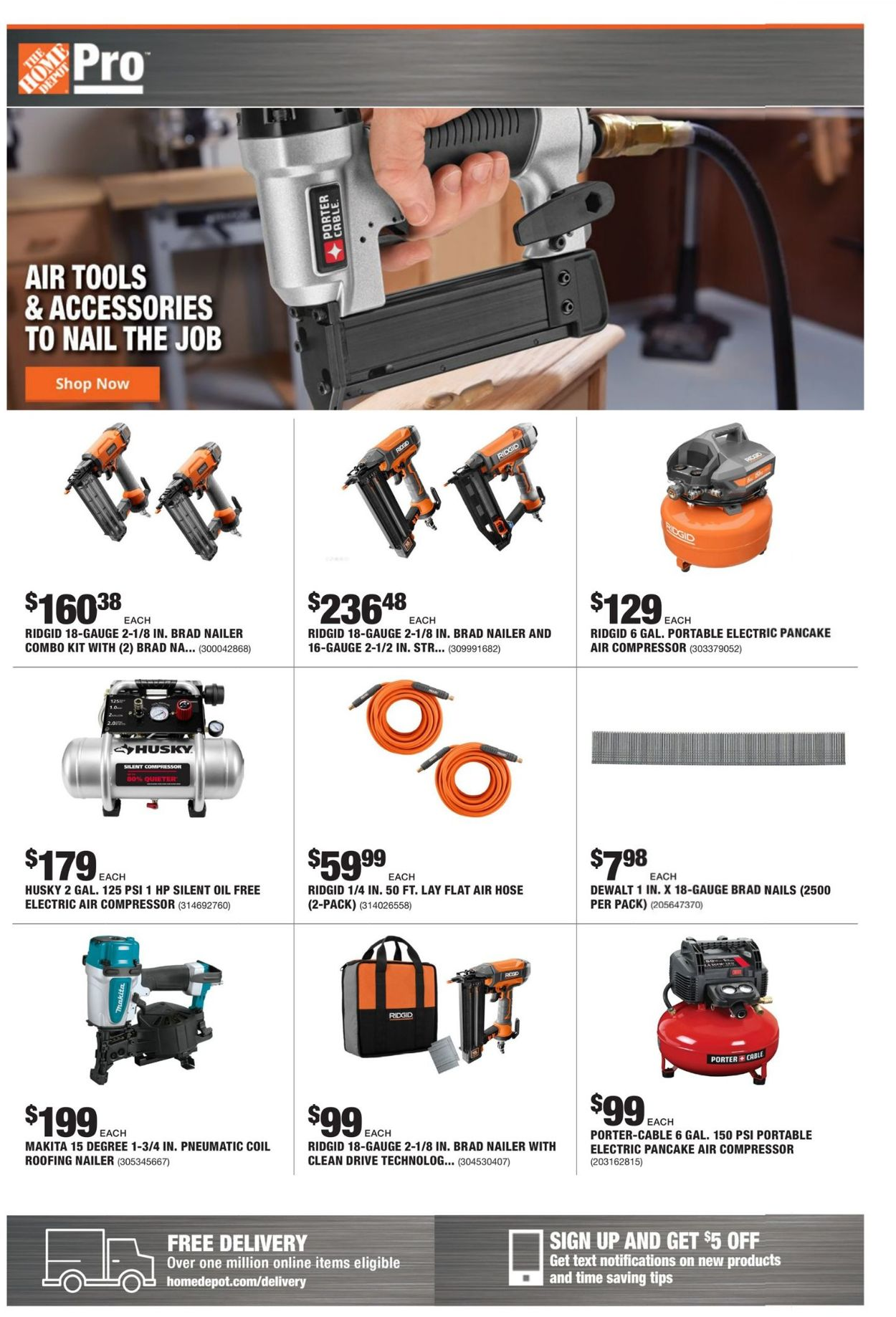 Catalogue Home Depot from 06/07/2021