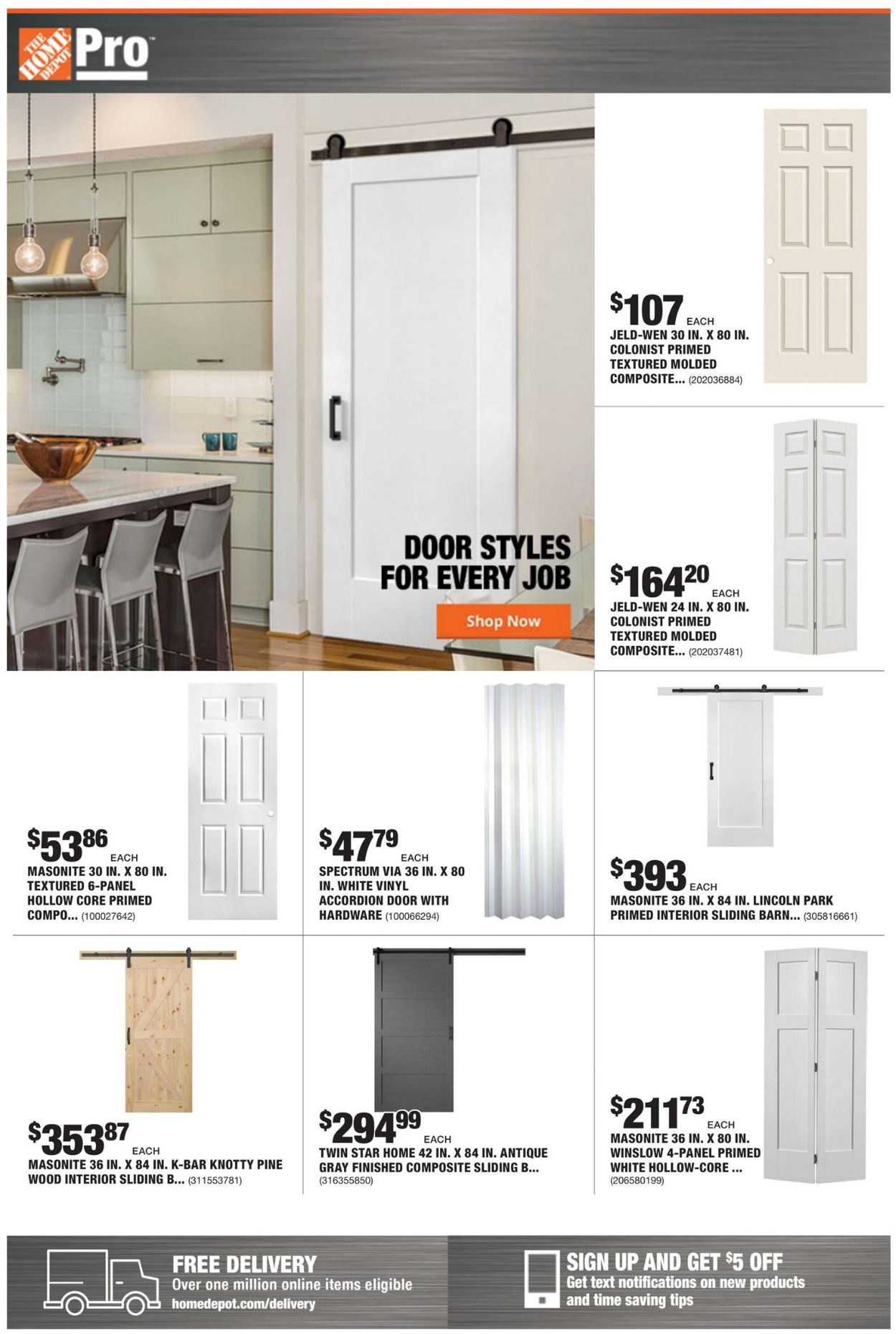 Catalogue Home Depot from 09/13/2021
