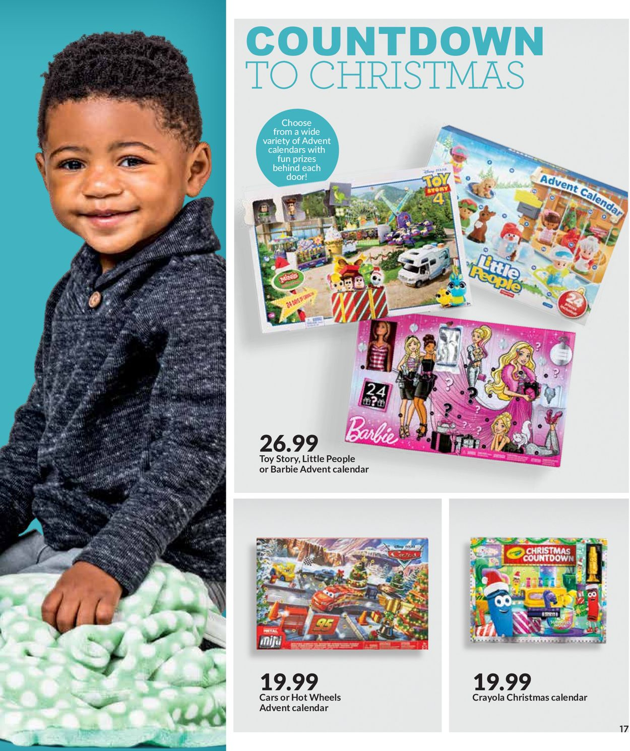 Jayc Foods Christmas Countdown 2020 HyVee Current weekly ad 11/01   12/24/2019 [17]   frequent ads.com