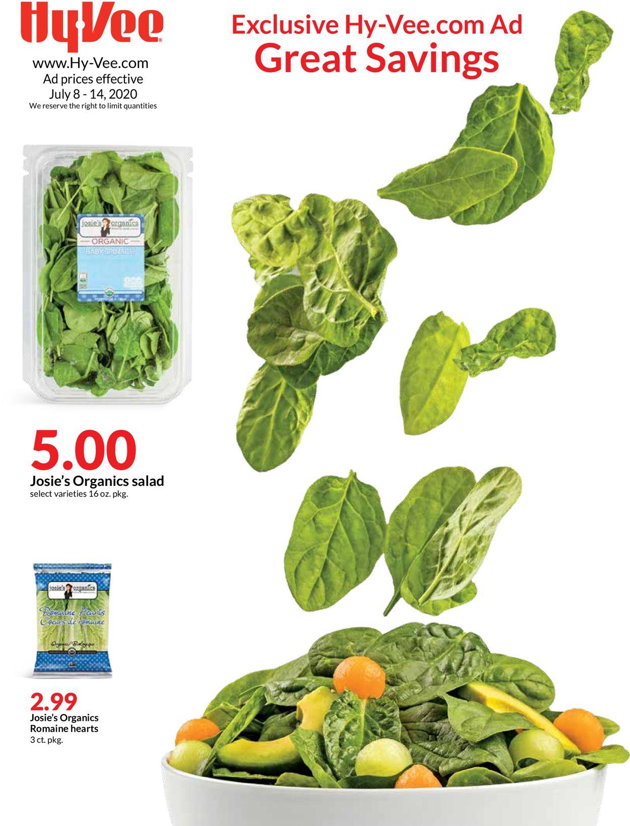 Catalogue HyVee from 07/08/2020