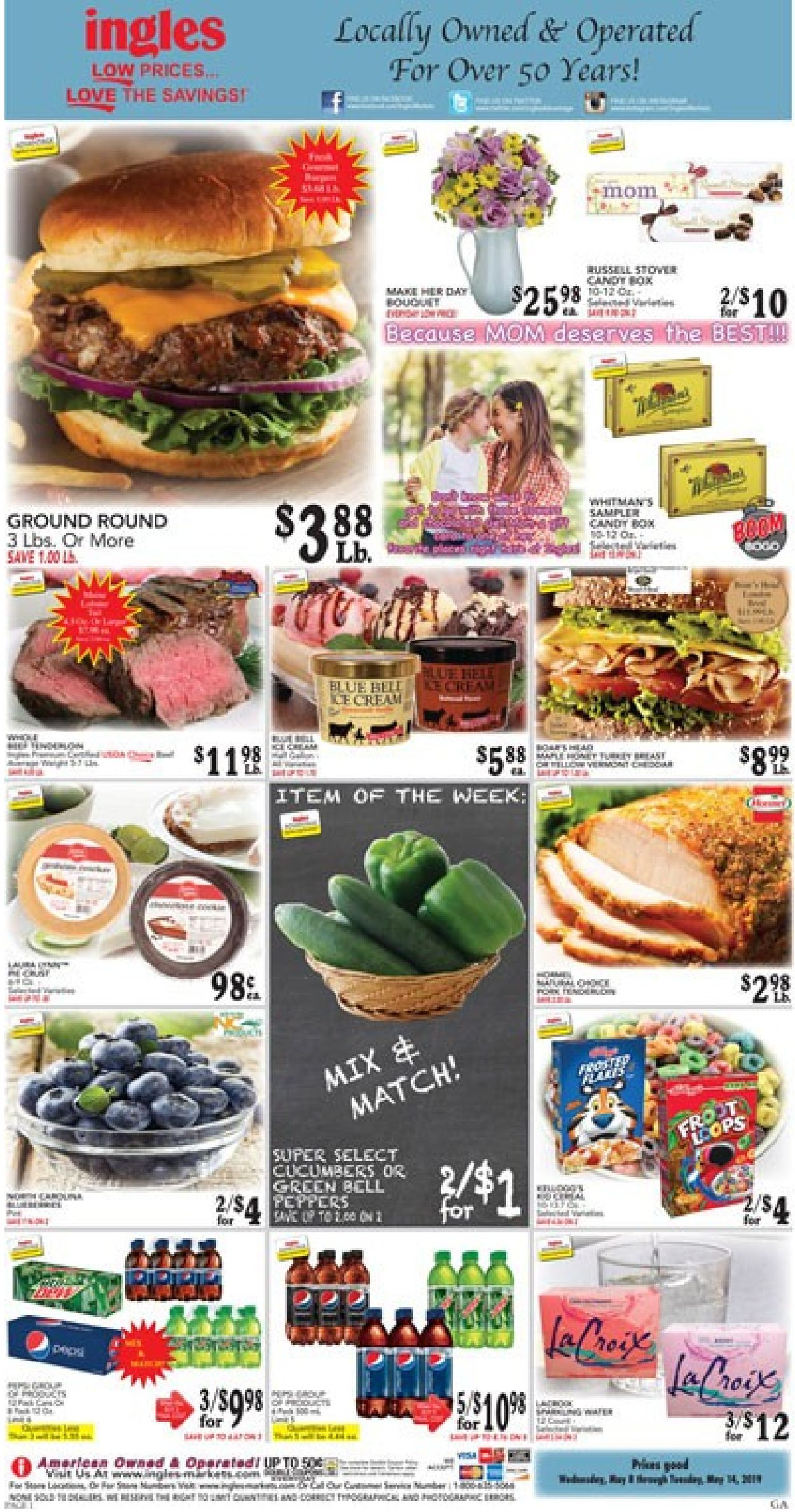 Ingles Current weekly ad 05/08 - 05/14/2019 - frequent-ads com