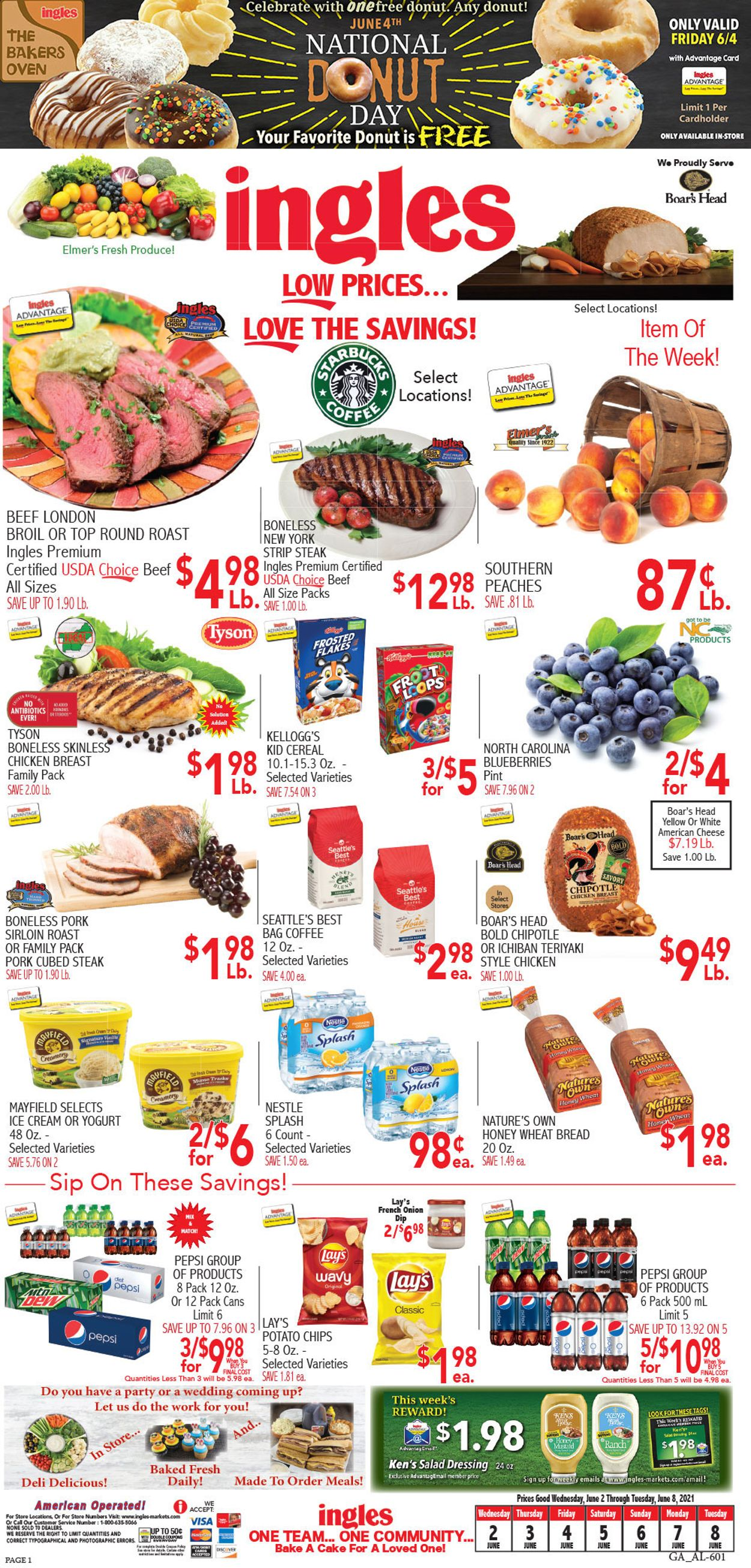 Catalogue Ingles from 06/02/2021