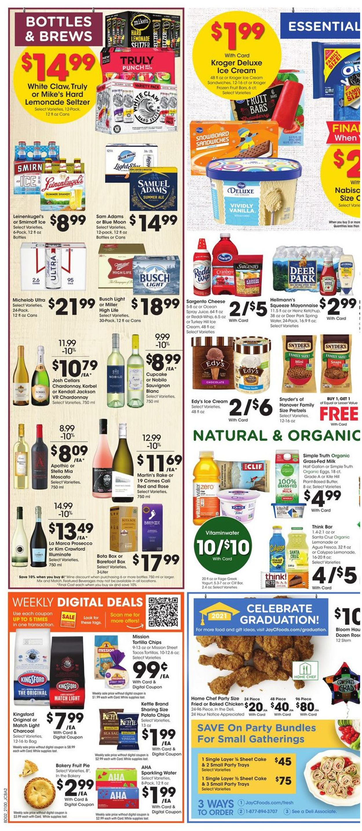 Catalogue Jay C Food Stores from 05/26/2021