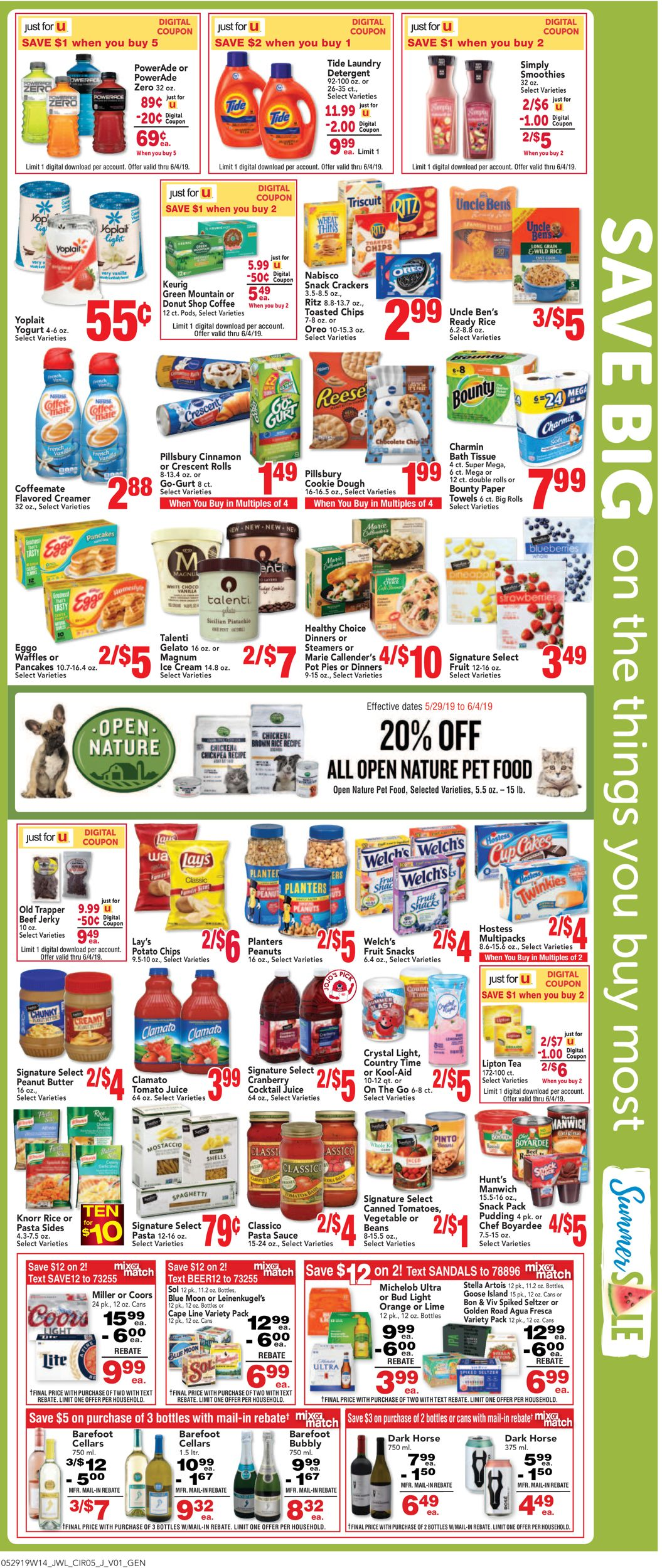 Jewel Osco Current weekly ad 05/29 - 06/04/2019 [6] - frequent-ads com