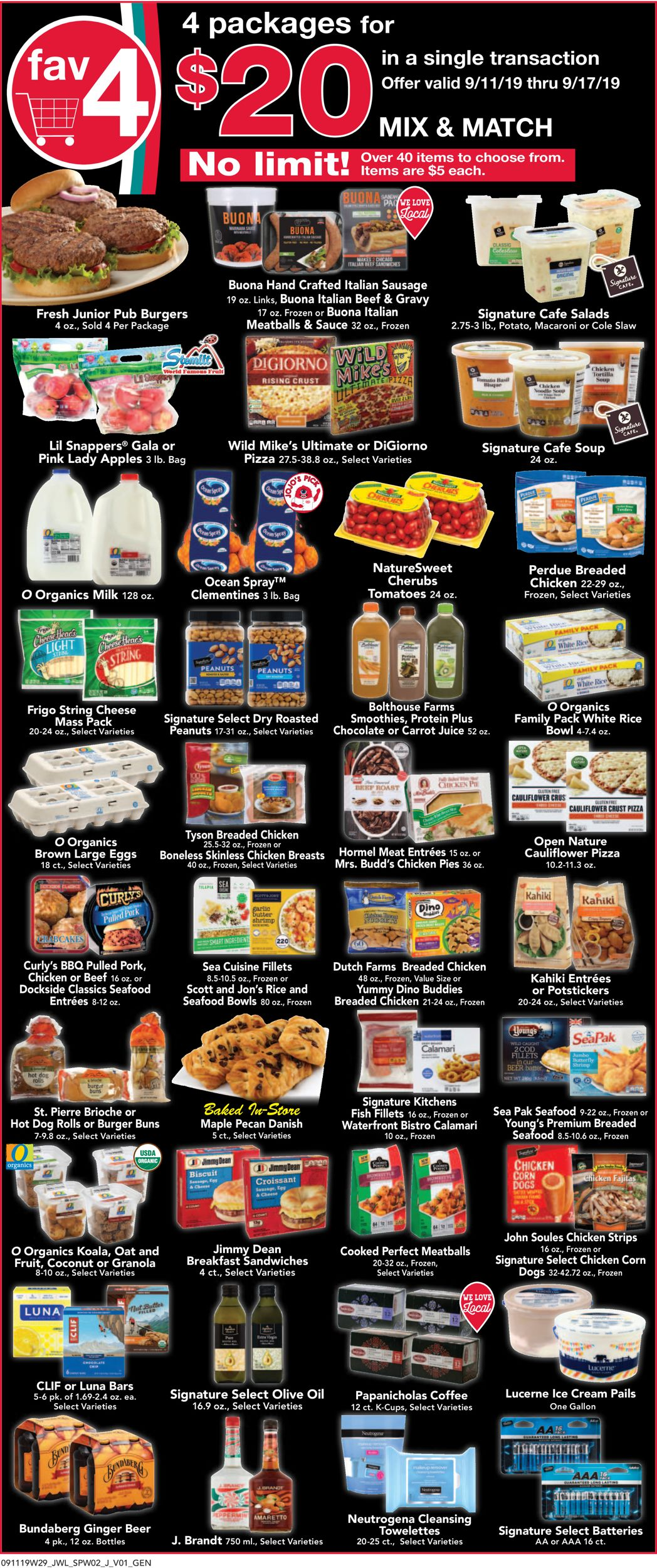 Jewel Osco Current Weekly Ad 09 11 09 17 2019 Frequent Ads Com