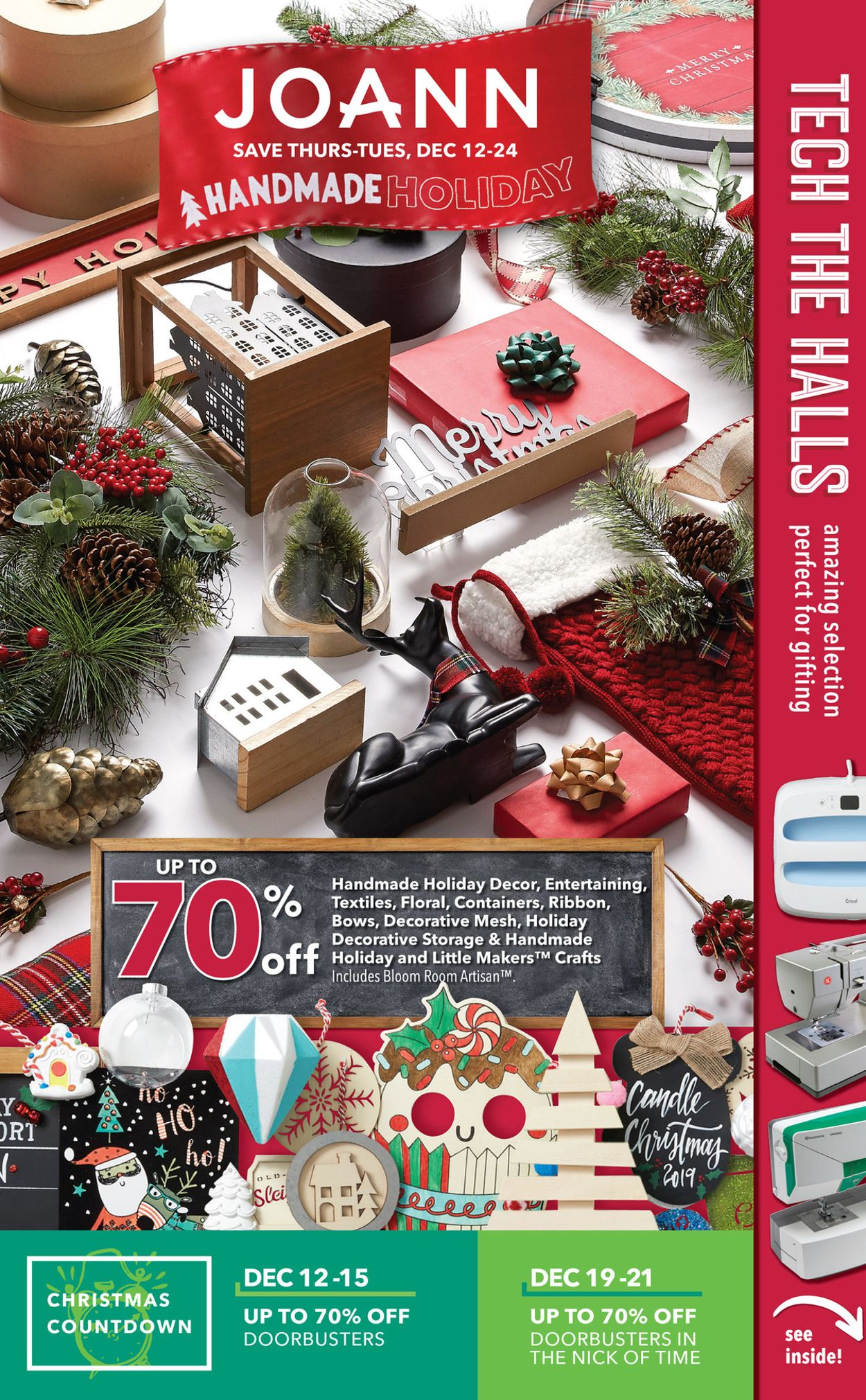 Jayc Foods Christmas Countdown 2020 Jo Ann   Holiday Ad 2019 Current weekly ad 12/12   12/24/2019