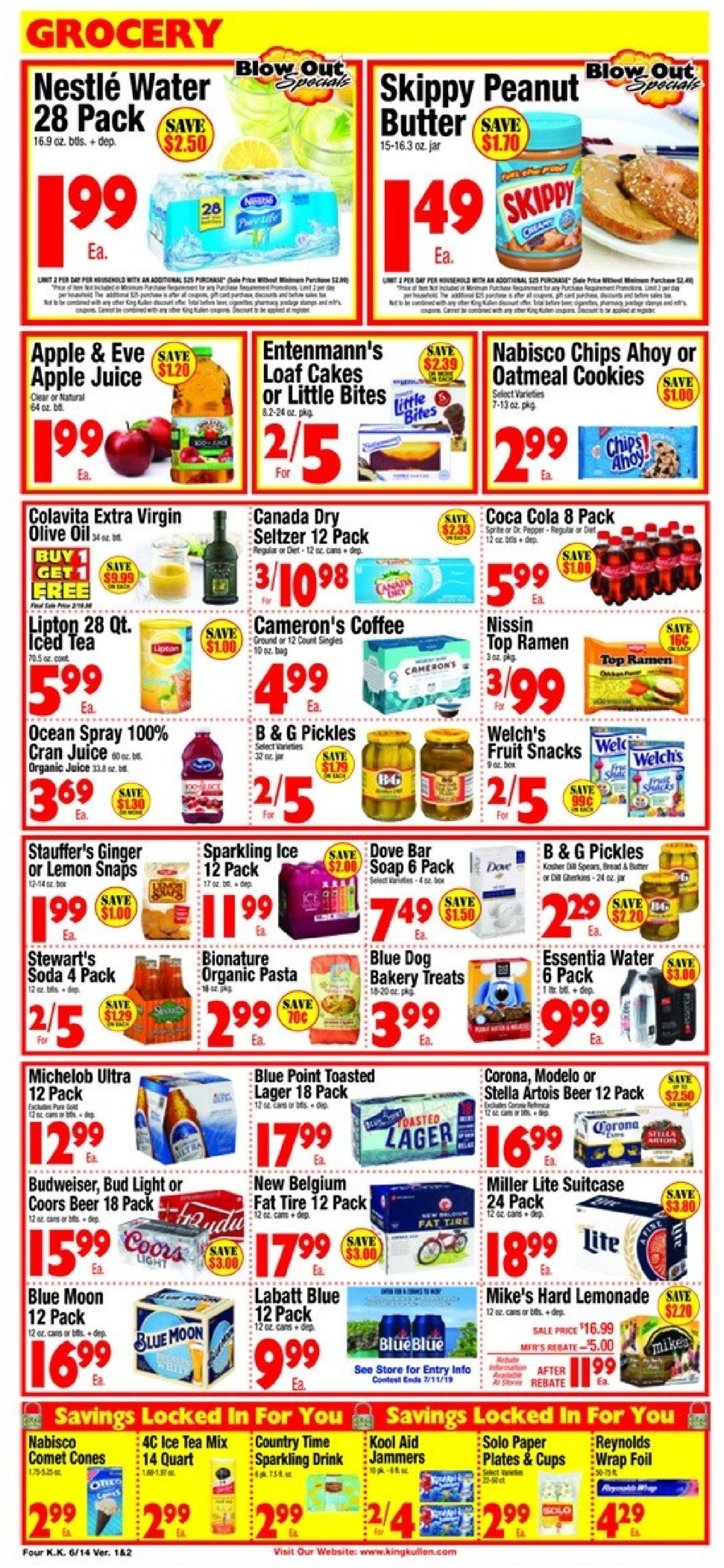 King Kullen Current weekly ad 06/14 - 06/20/2019 [4] - frequent-ads com