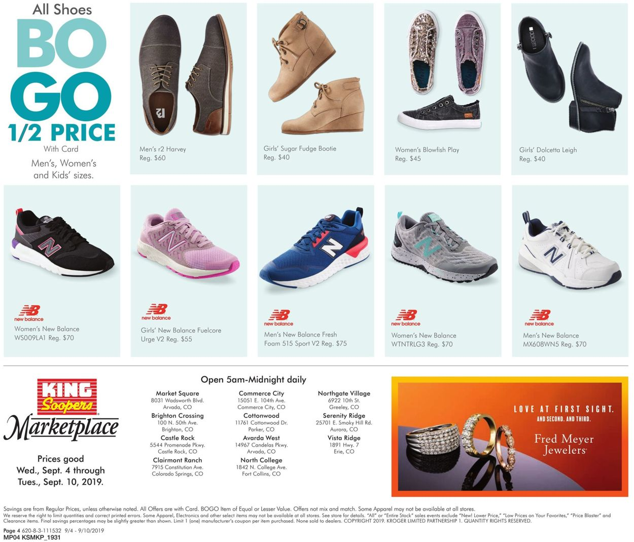 King Soopers Current weekly ad 09/04