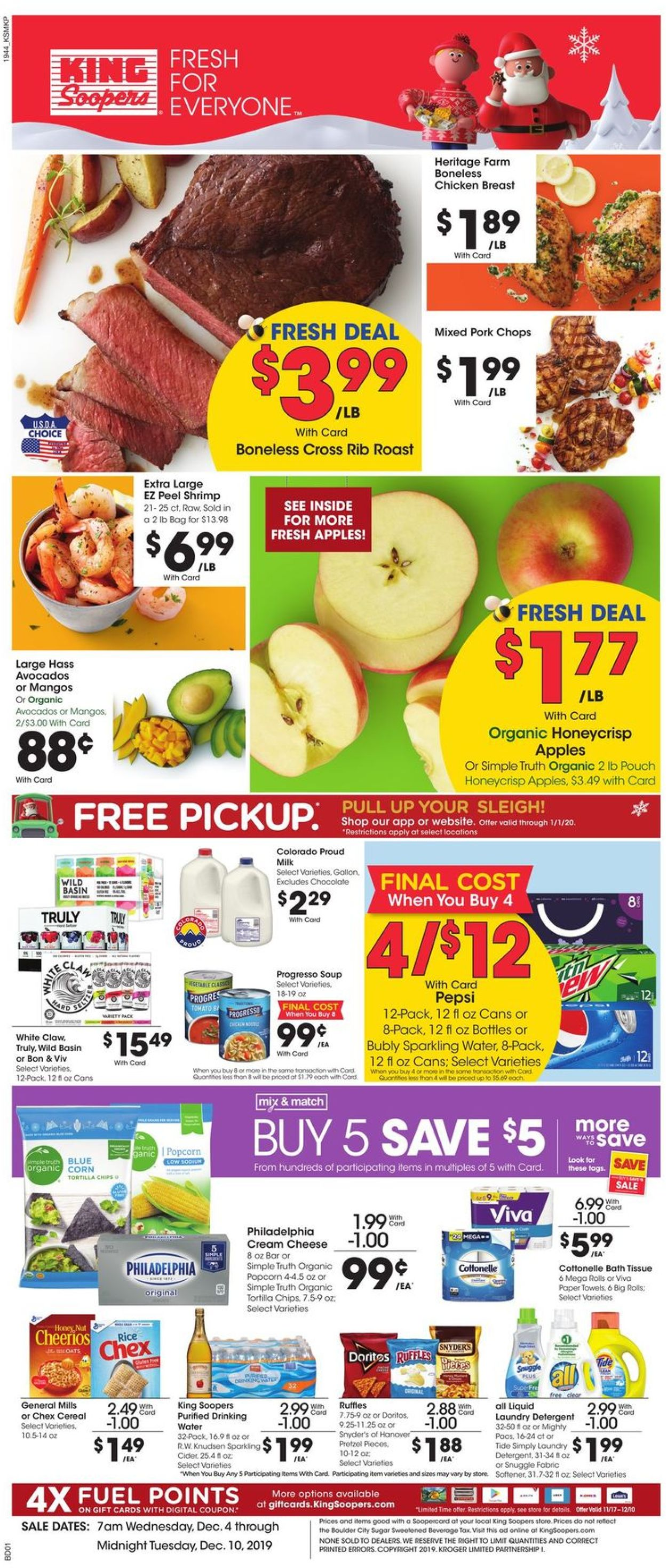 Catalogue King Soopers from 12/04/2019