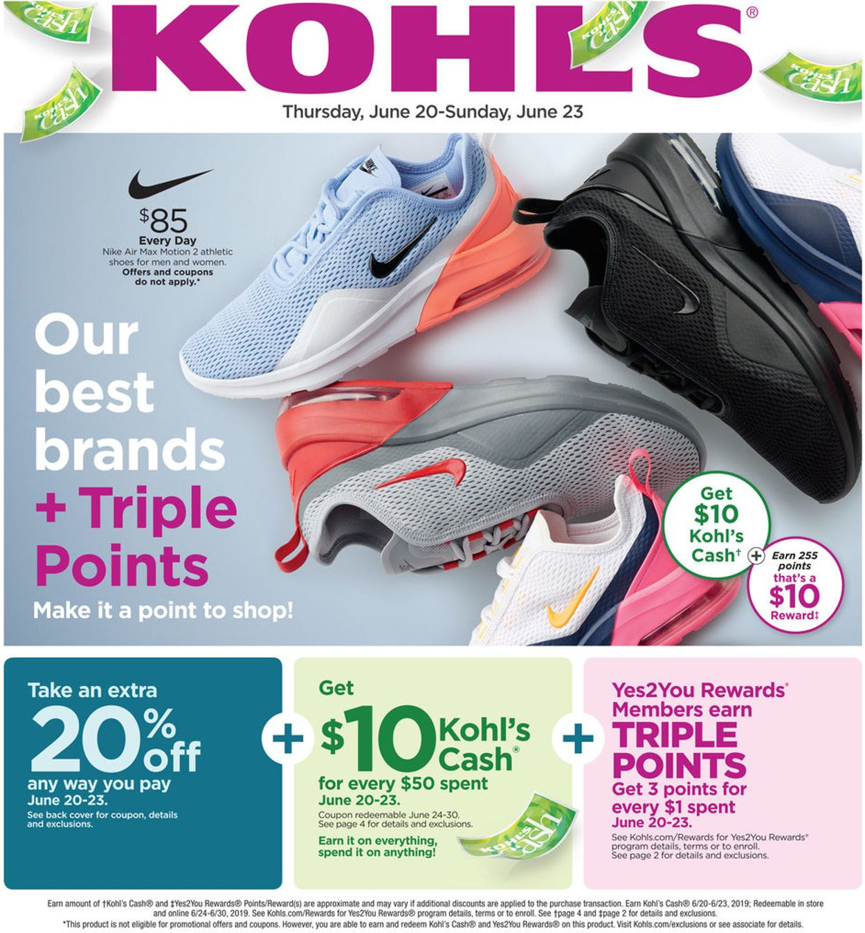 kohl's women's nike tennis shoes