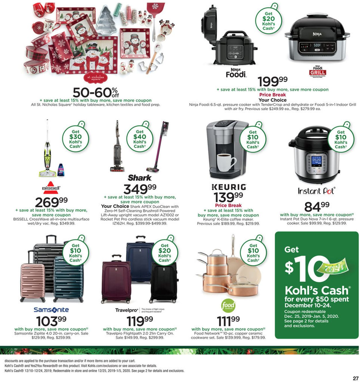 Kohl S Holiday Ad 2019 Current Weekly Ad 12 15 12 19