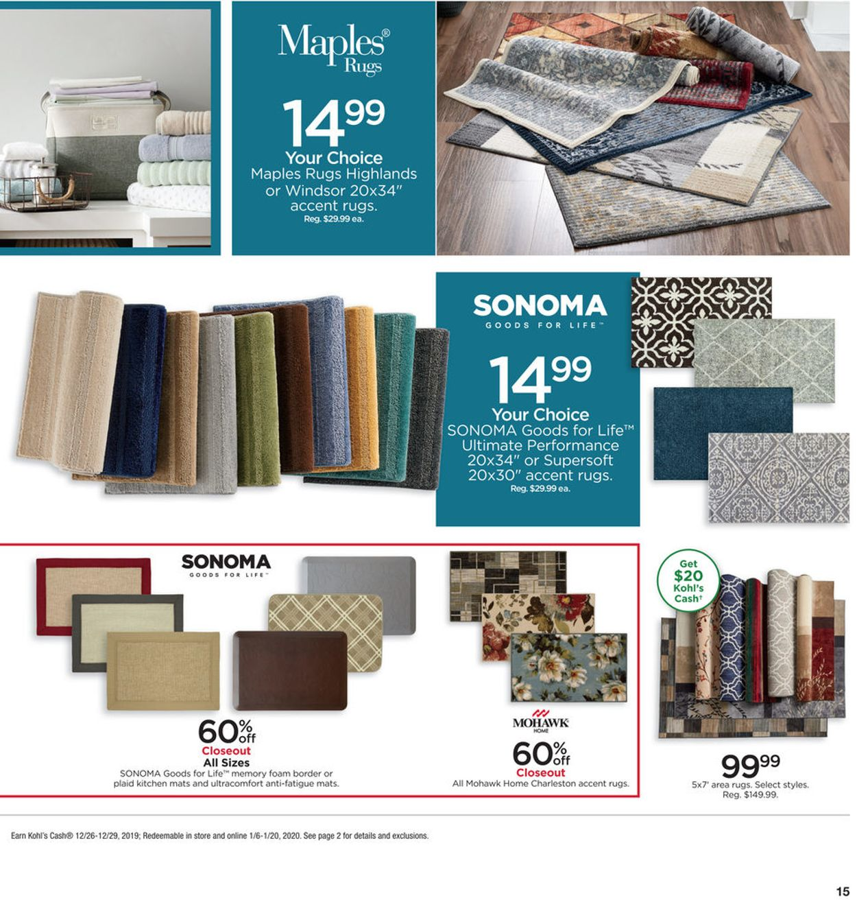 Kohl S Current Weekly Ad 12 26 12 31 2019 15 Frequent Ads Com