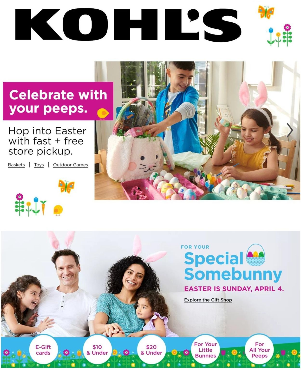Catalogue Kohl's - Easter 2021 from 03/25/2021