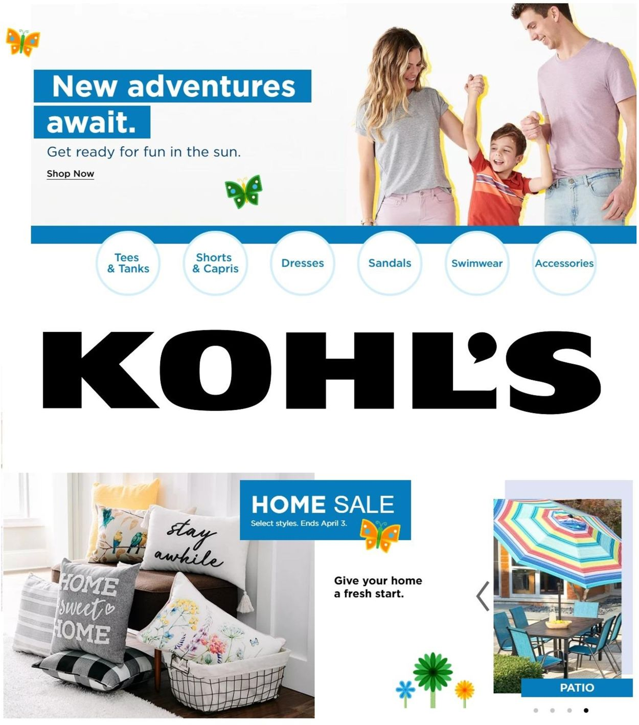 Catalogue Kohl's from 04/01/2021