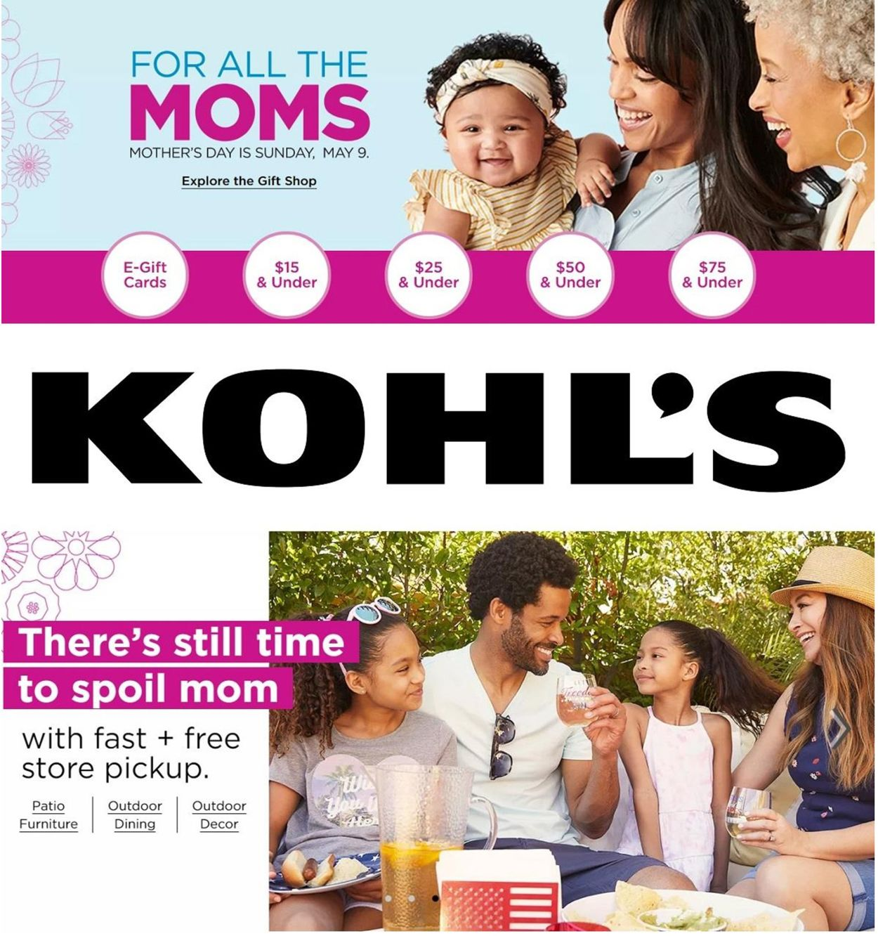 Catalogue Kohl's from 04/29/2021