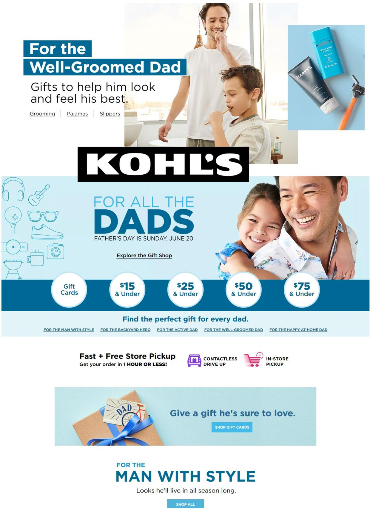Catalogue Kohl's from 06/10/2021